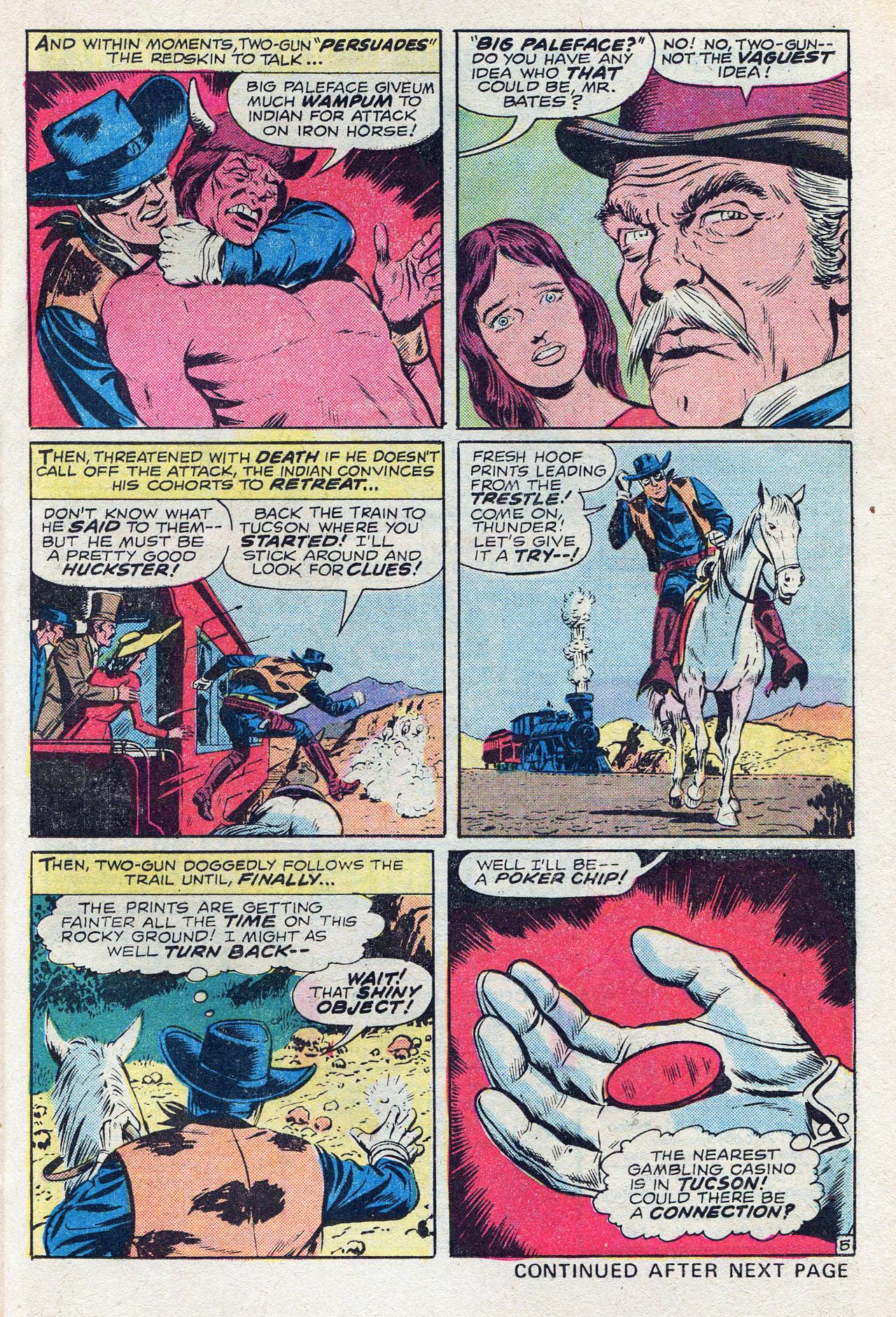 Read online Two-Gun Kid comic -  Issue #128 - 25