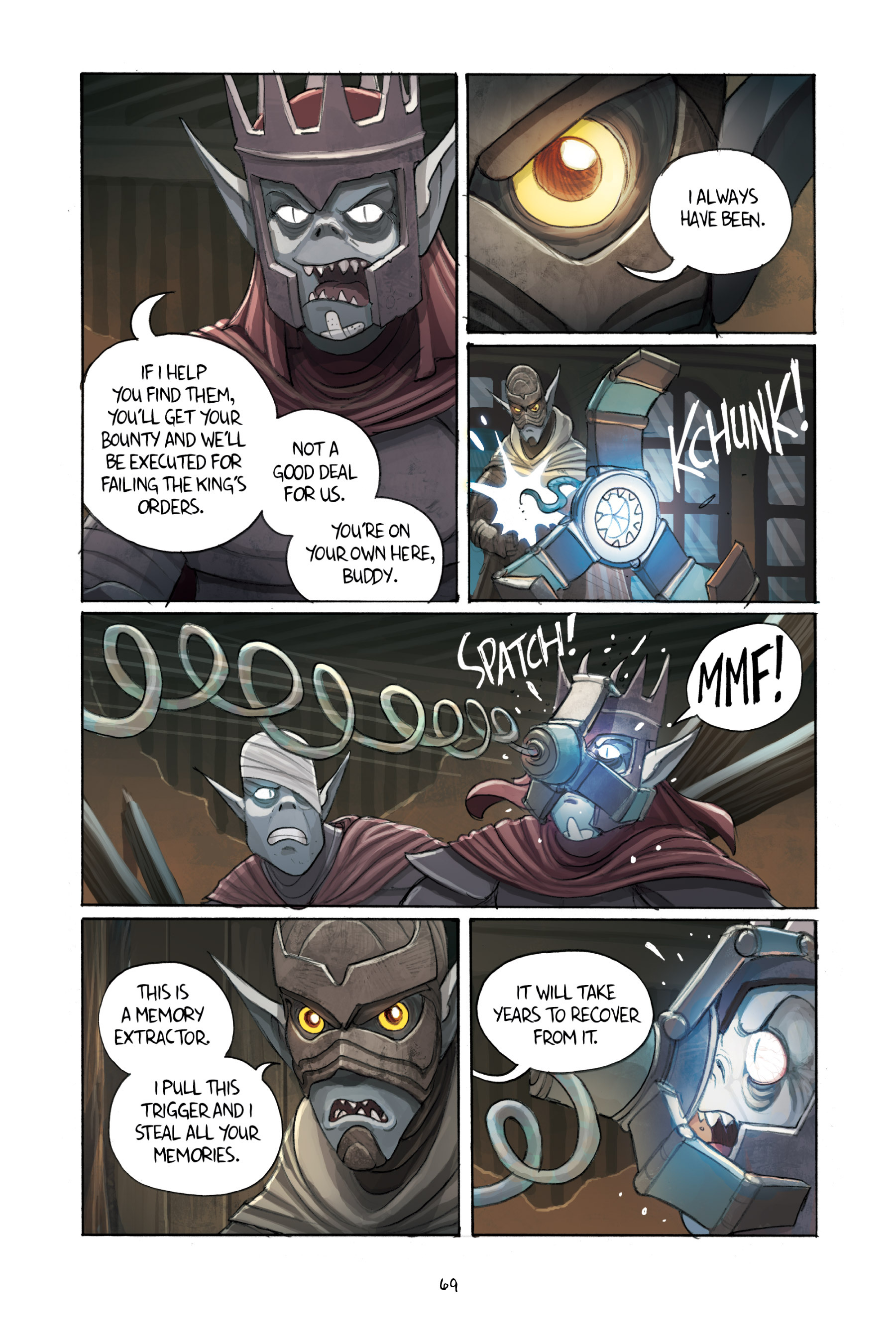 Read online Amulet comic -  Issue #3 - 67