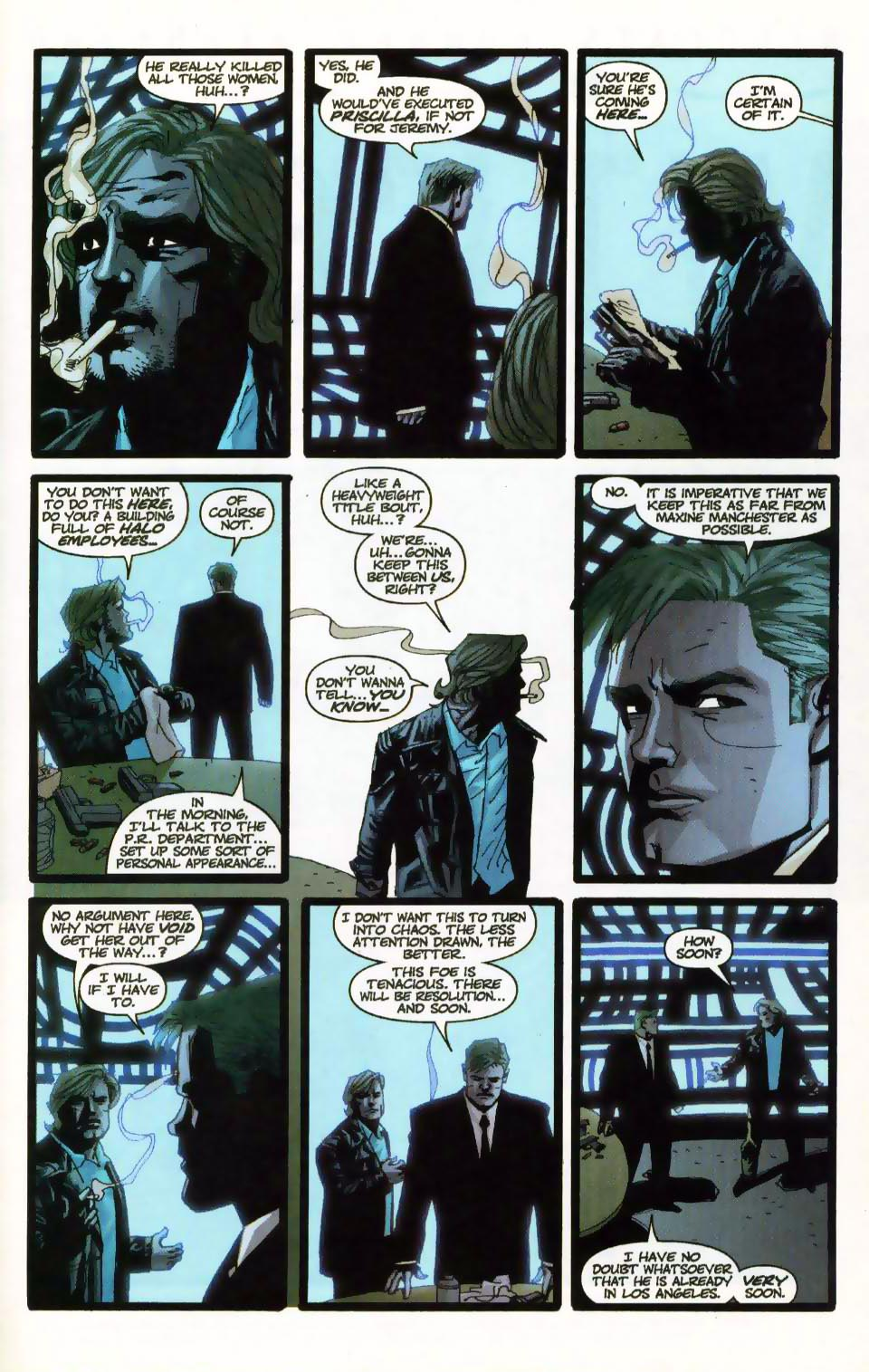 Wildcats (1999) Issue #18 #19 - English 4