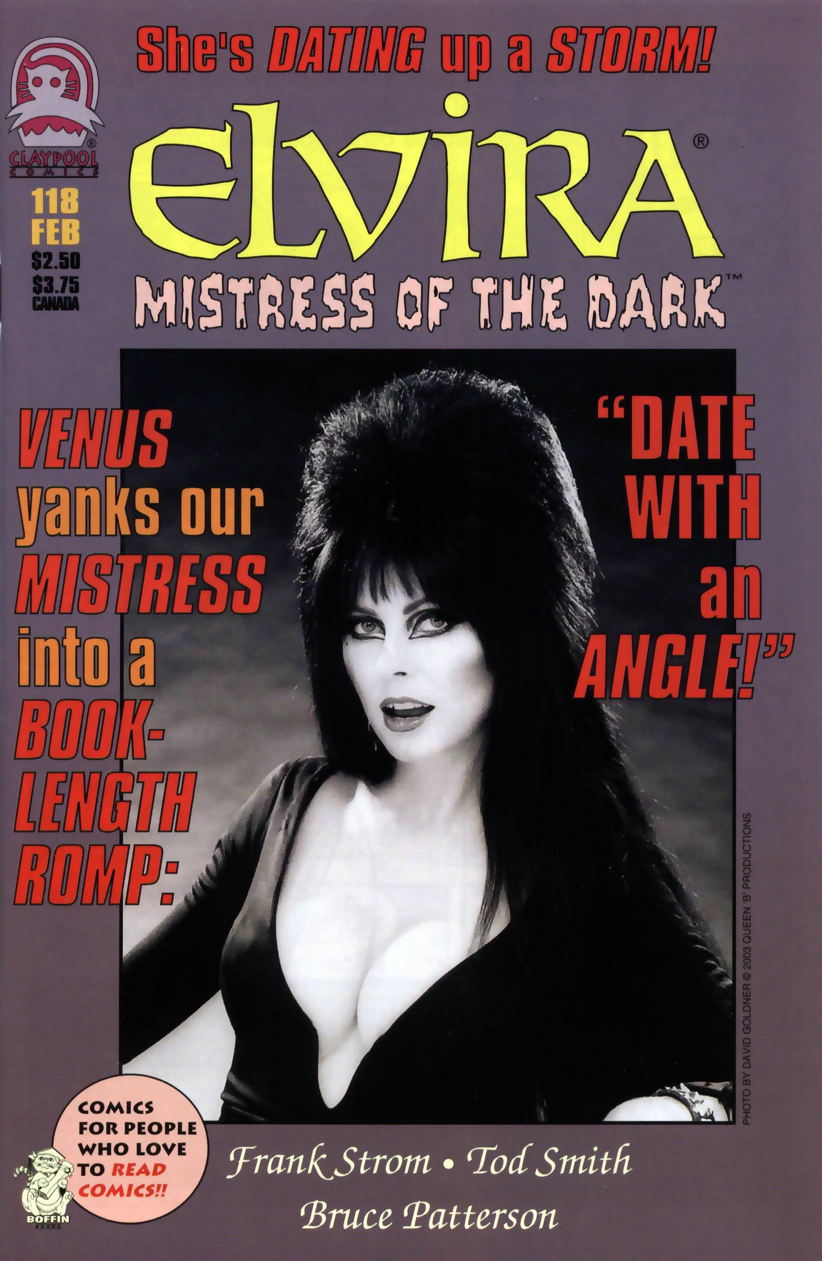Read online Elvira, Mistress of the Dark comic -  Issue #118 - 1