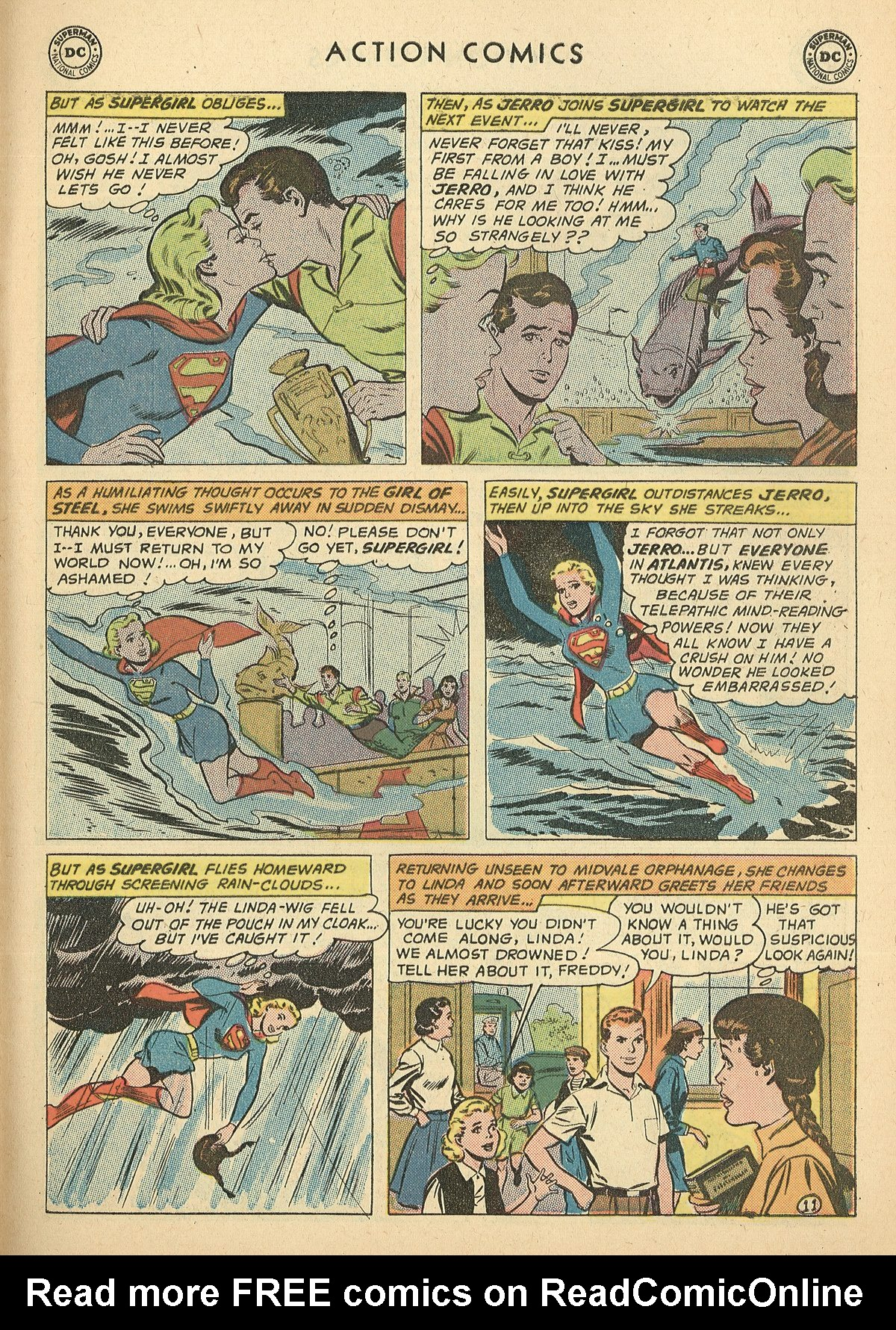 Read online Action Comics (1938) comic -  Issue #269 - 31