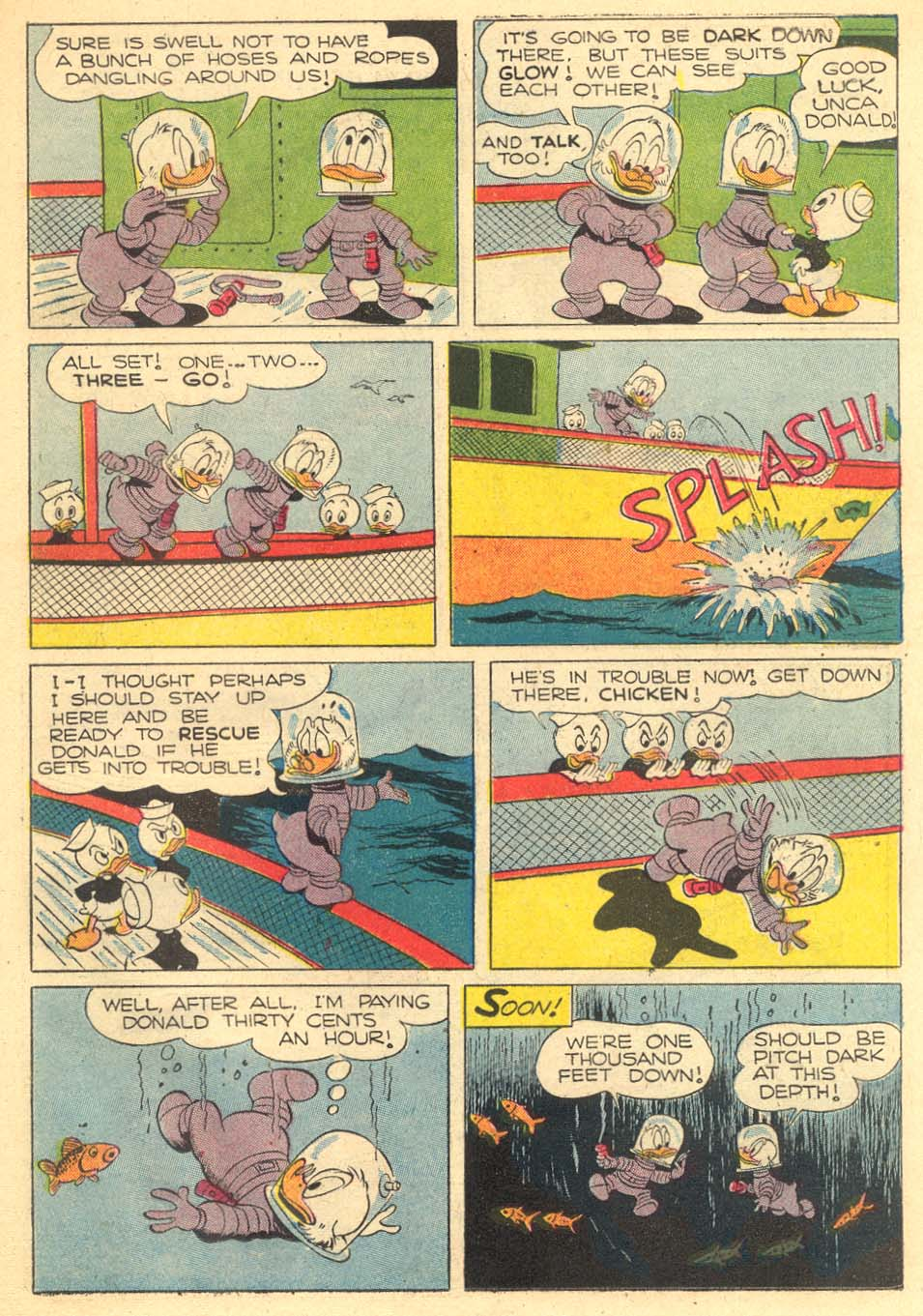 Read online Uncle Scrooge (1953) comic -  Issue #5 - 19