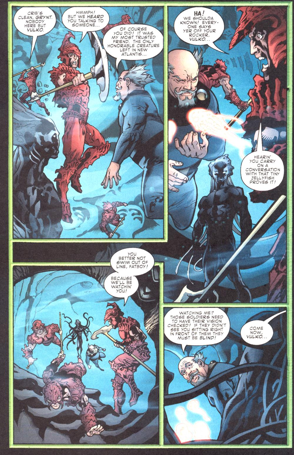 Read online Aquaman (2003) comic -  Issue #10 - 21