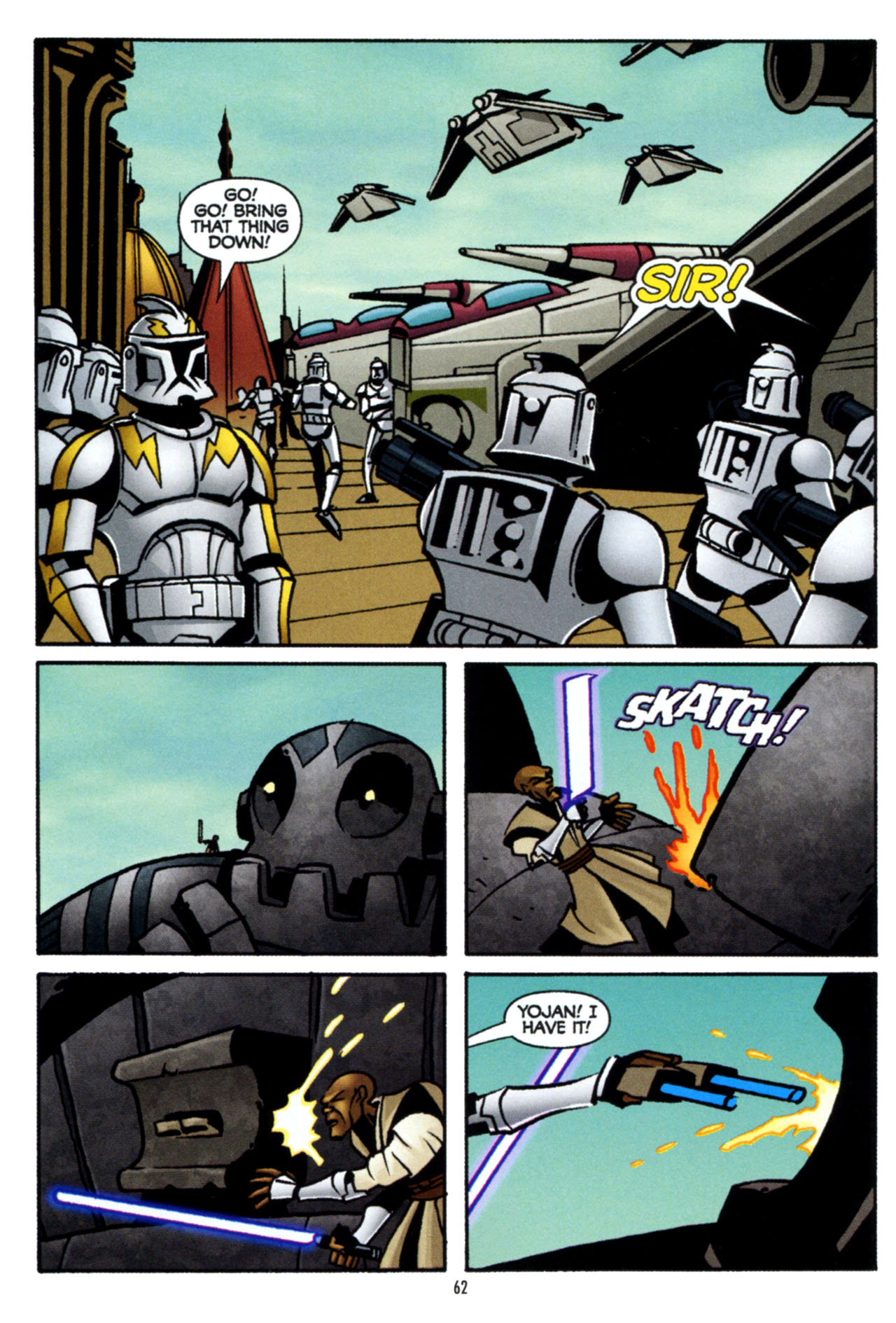 Read online Star Wars: The Clone Wars - The Colossus of Destiny comic -  Issue # Full - 62