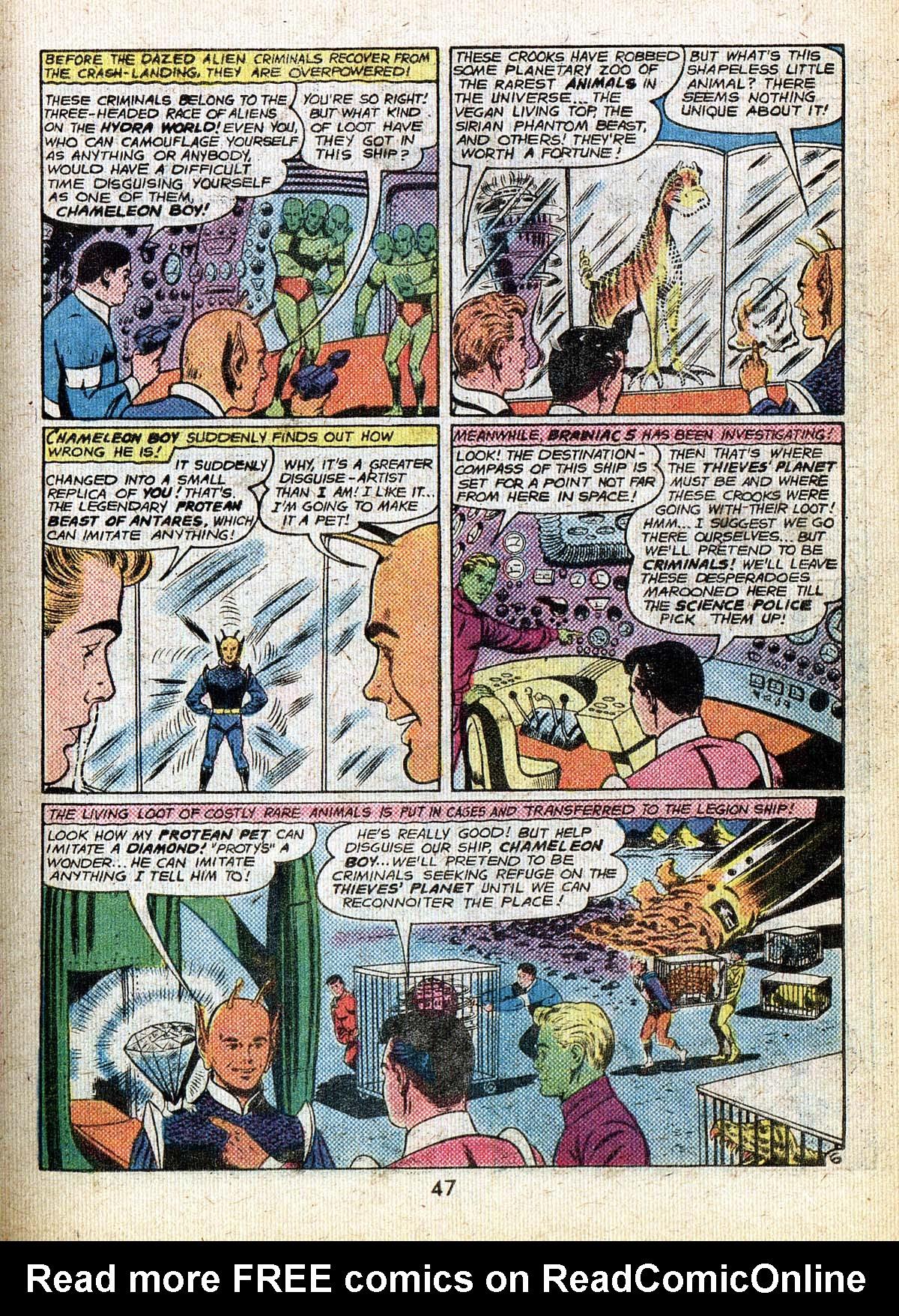Read online Adventure Comics (1938) comic -  Issue #500 - 47