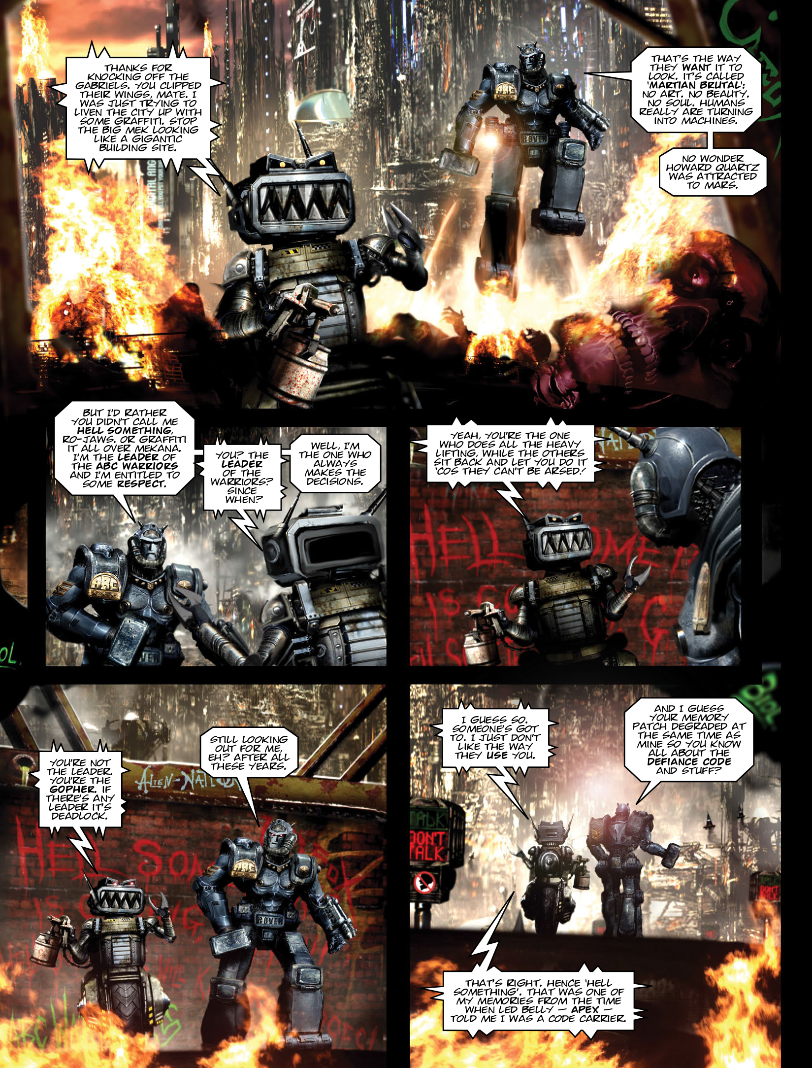 Read online 2000 AD comic -  Issue #1972 - 18