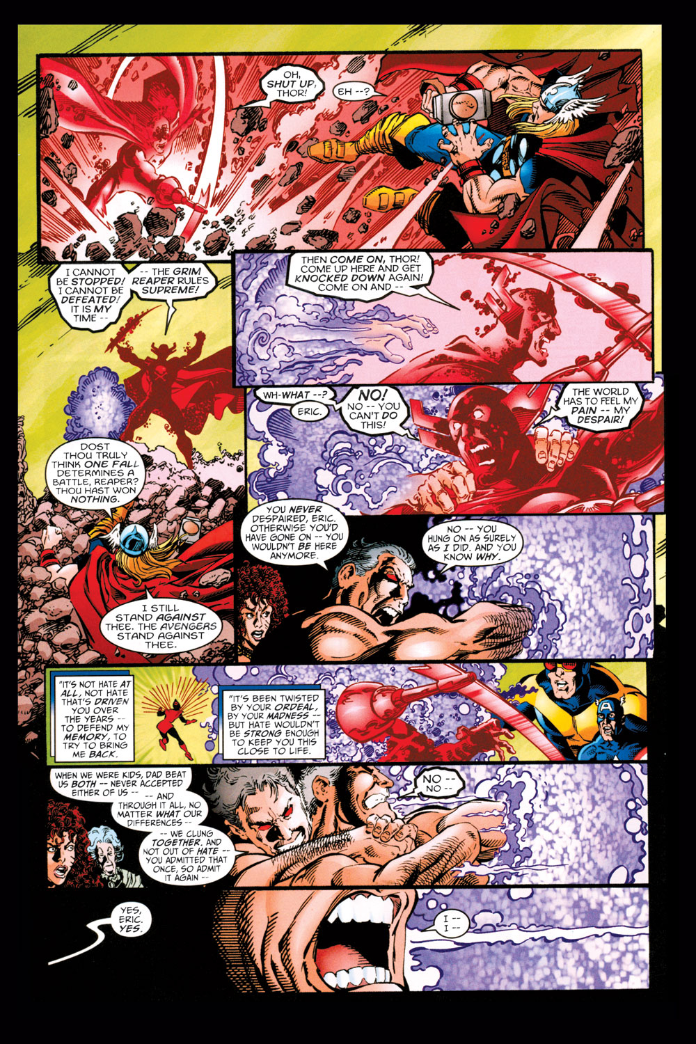 Read online Avengers (1998) comic -  Issue #11 - 21
