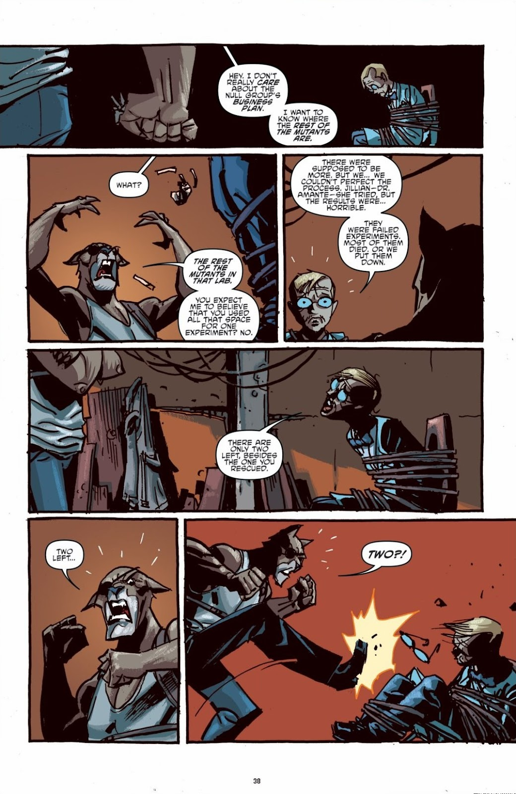 Read online Teenage Mutant Ninja Turtles: The IDW Collection comic -  Issue # TPB 6 (Part 1) - 37