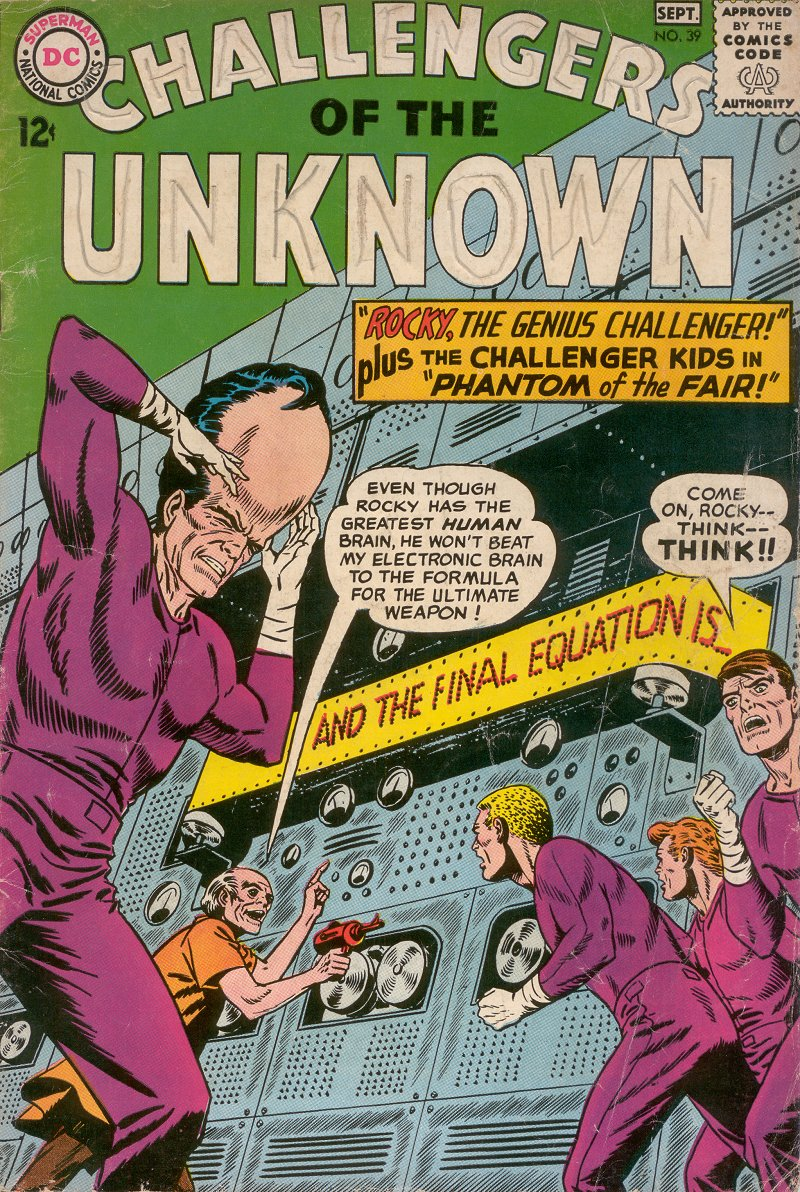 Challengers of the Unknown (1958) 39 Page 1