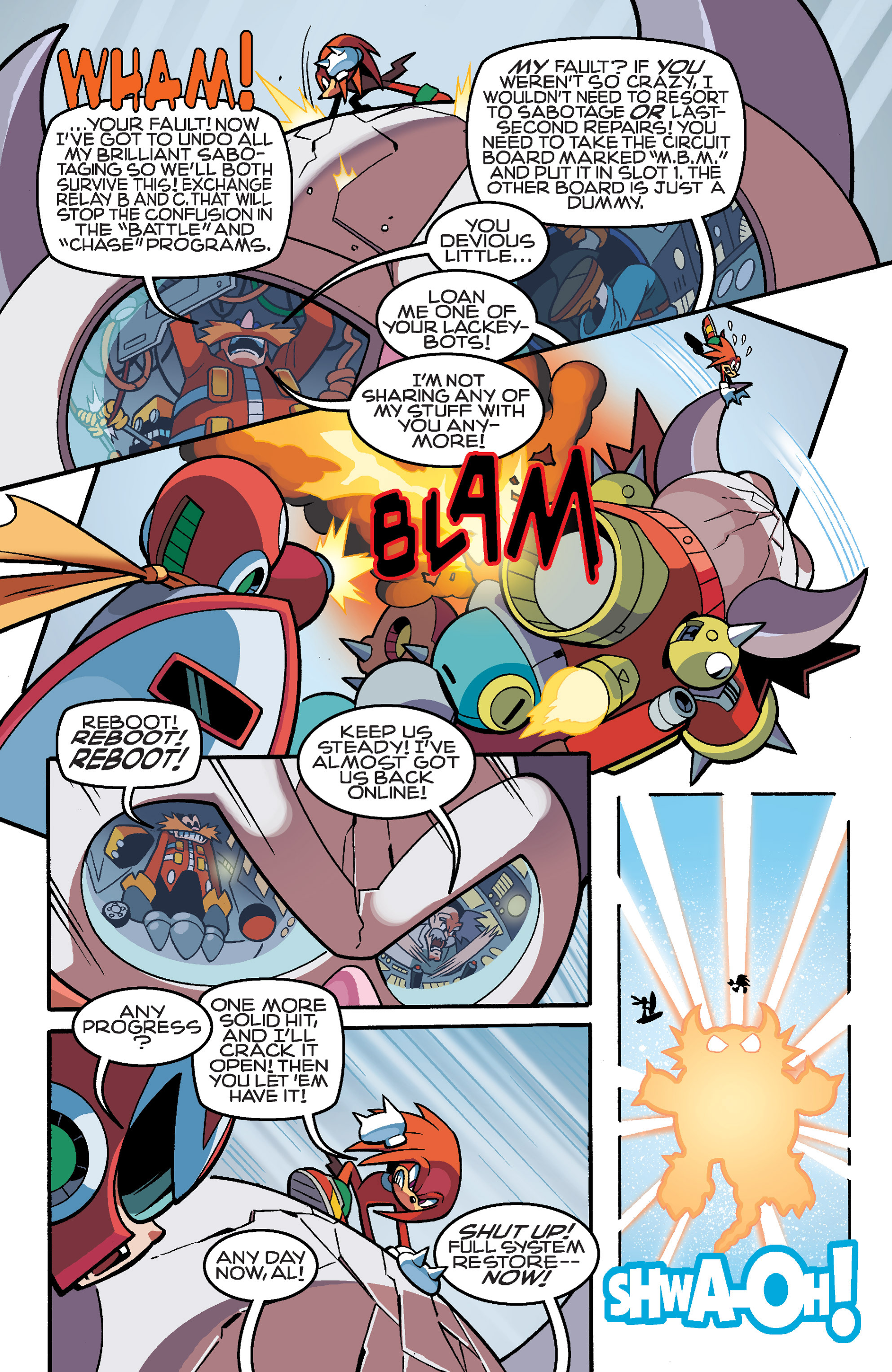 Read online Sonic Mega Man Worlds Collide comic -  Issue # Vol 3 - 106