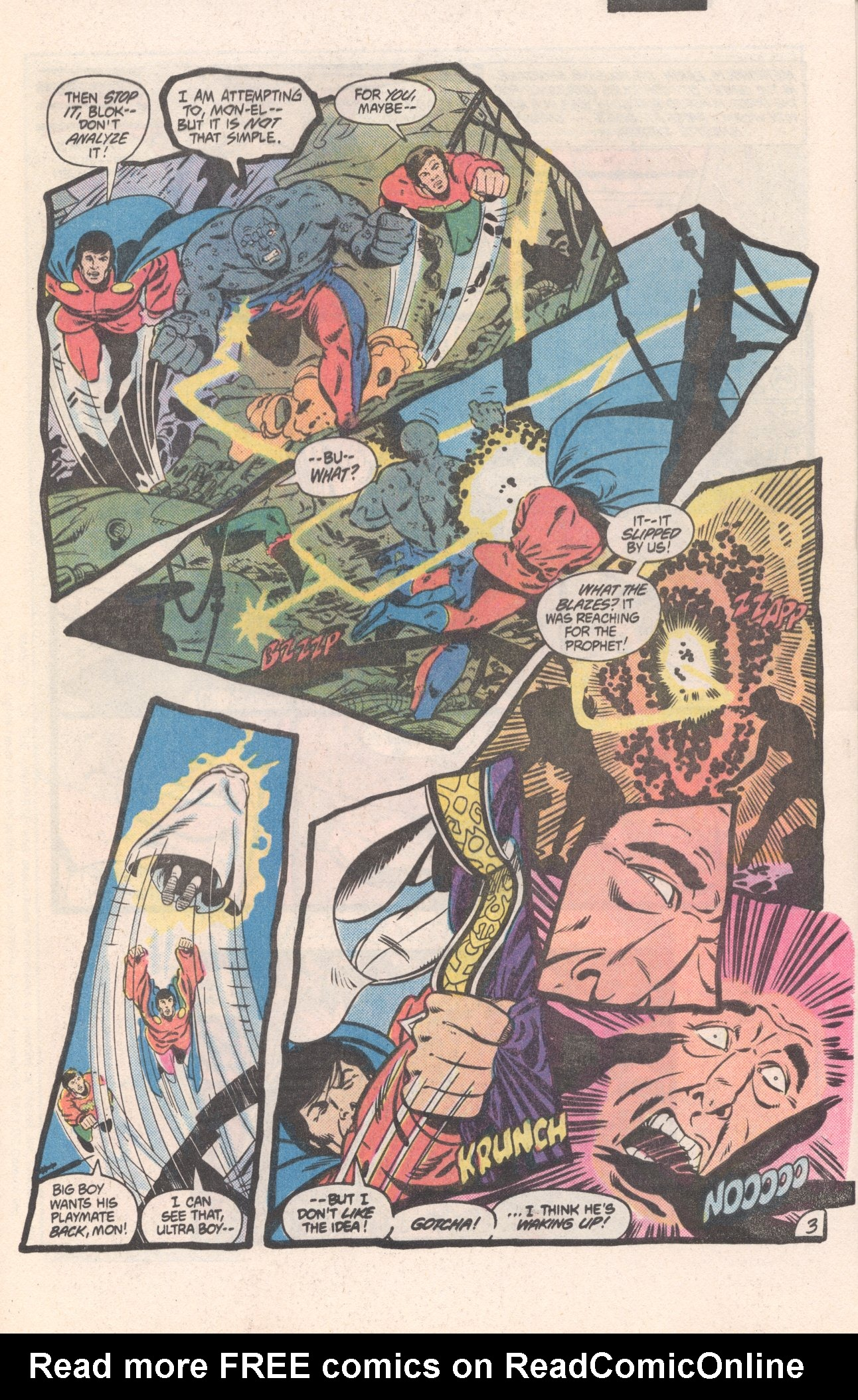 Legion of Super-Heroes (1980) 310 Page 3