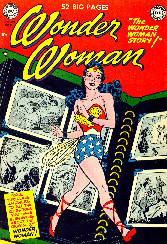 Read online Wonder Woman (1942) comic -  Issue #45 - 1