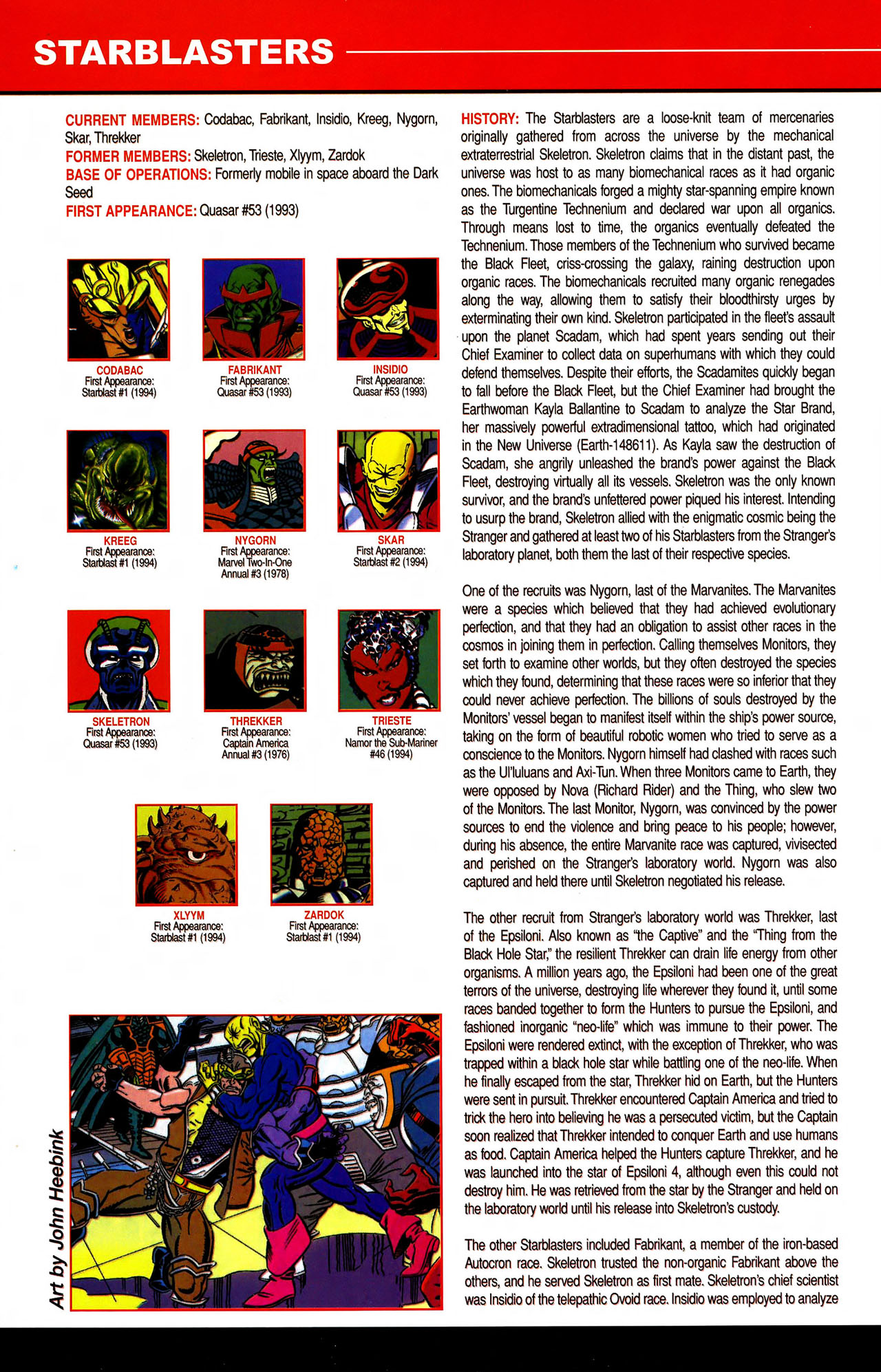 Read online All-New Official Handbook of the Marvel Universe A to Z comic -  Issue #10 - 54