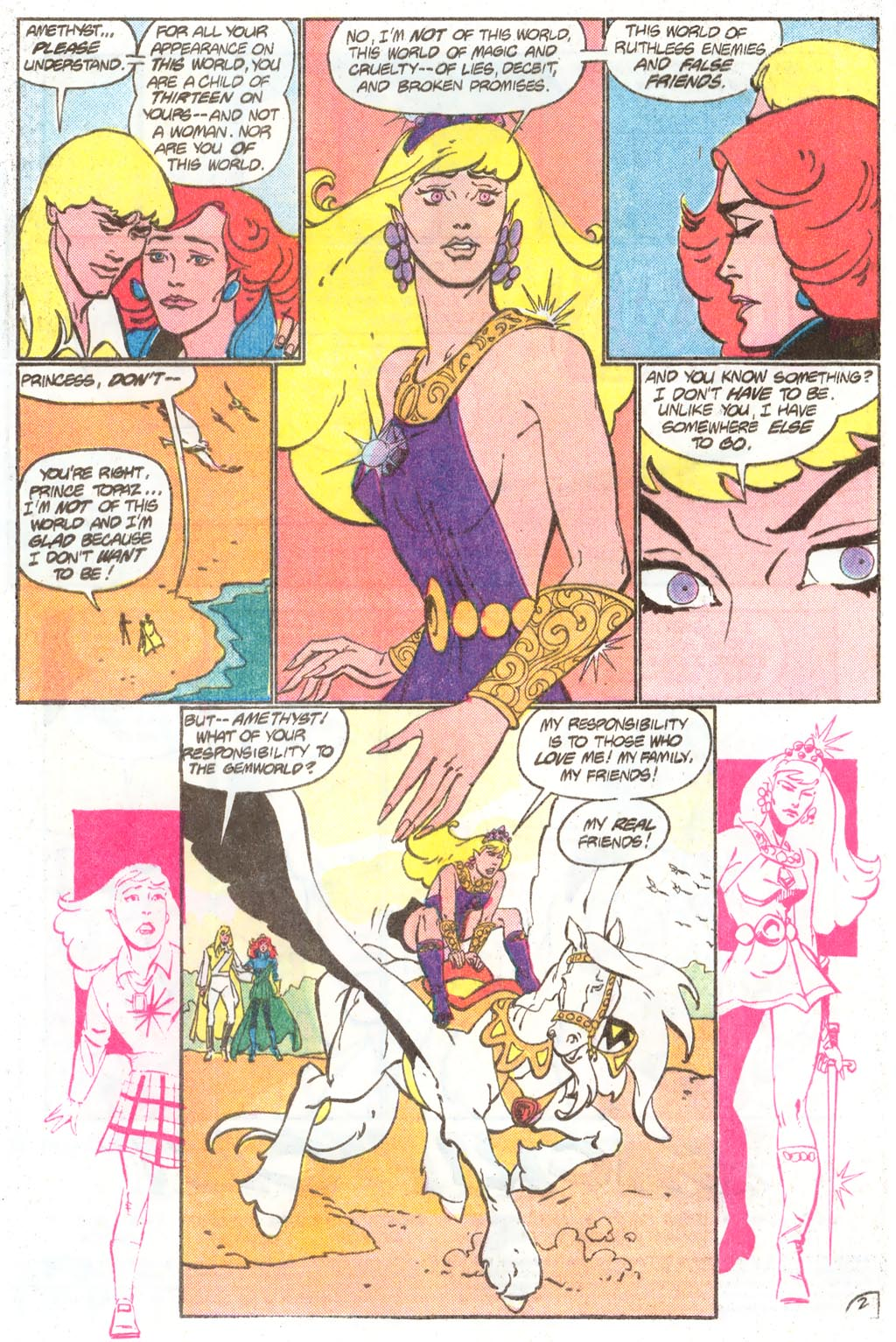 Read online Amethyst (1985) comic -  Issue #11 - 4