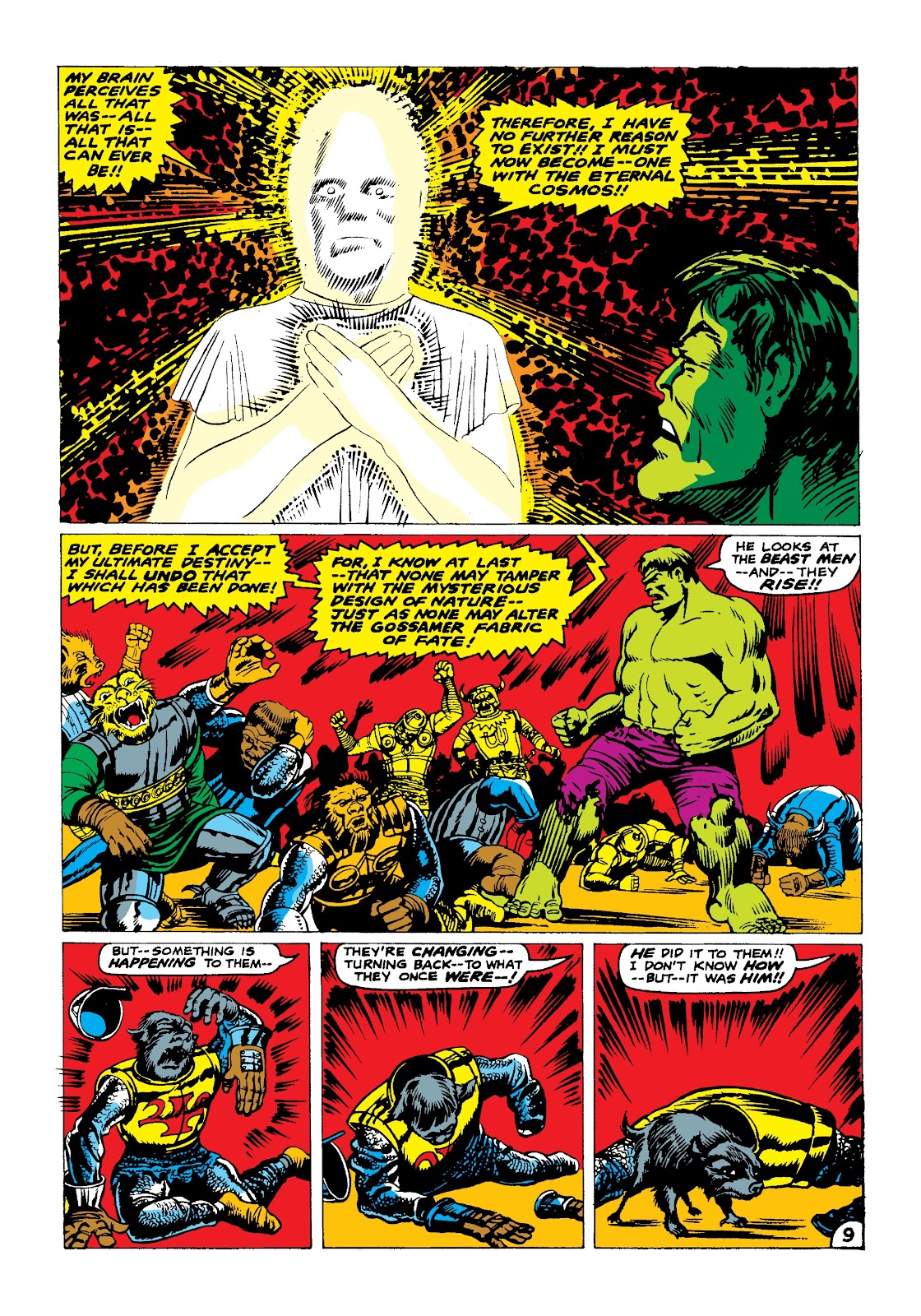 Read online Marvel Masterworks: The Incredible Hulk comic -  Issue # TPB 3 (Part 2) - 92