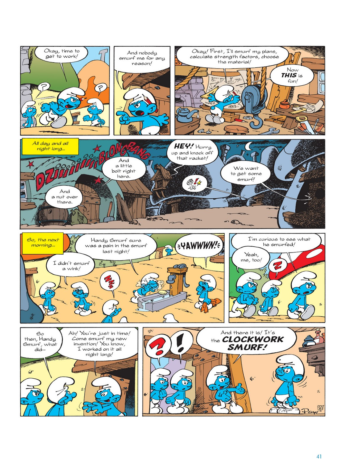 Read online The Smurfs comic -  Issue #13 - 41