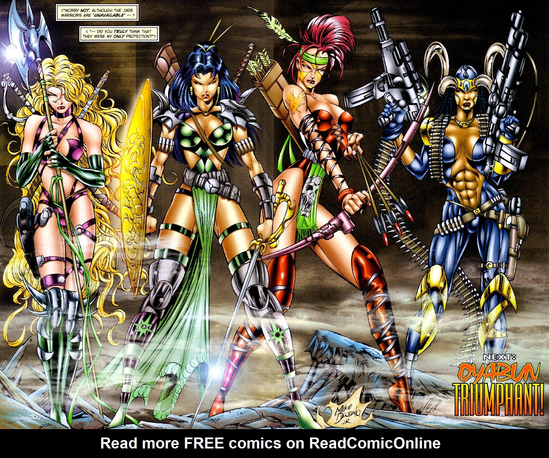 Read online Jade Warriors comic -  Issue #3 - 17