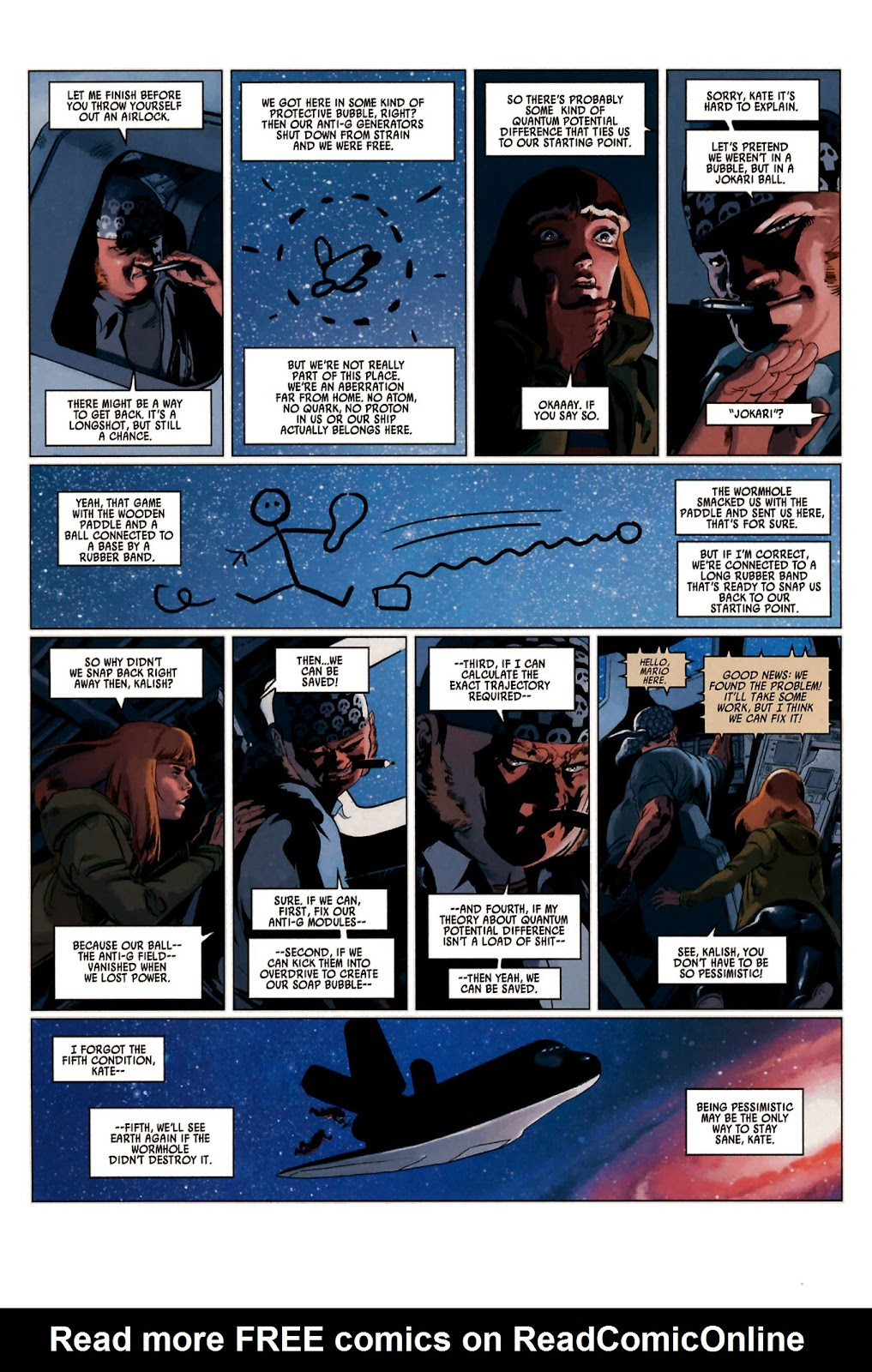 Read online Universal War One: Revelations comic -  Issue #2 - 12