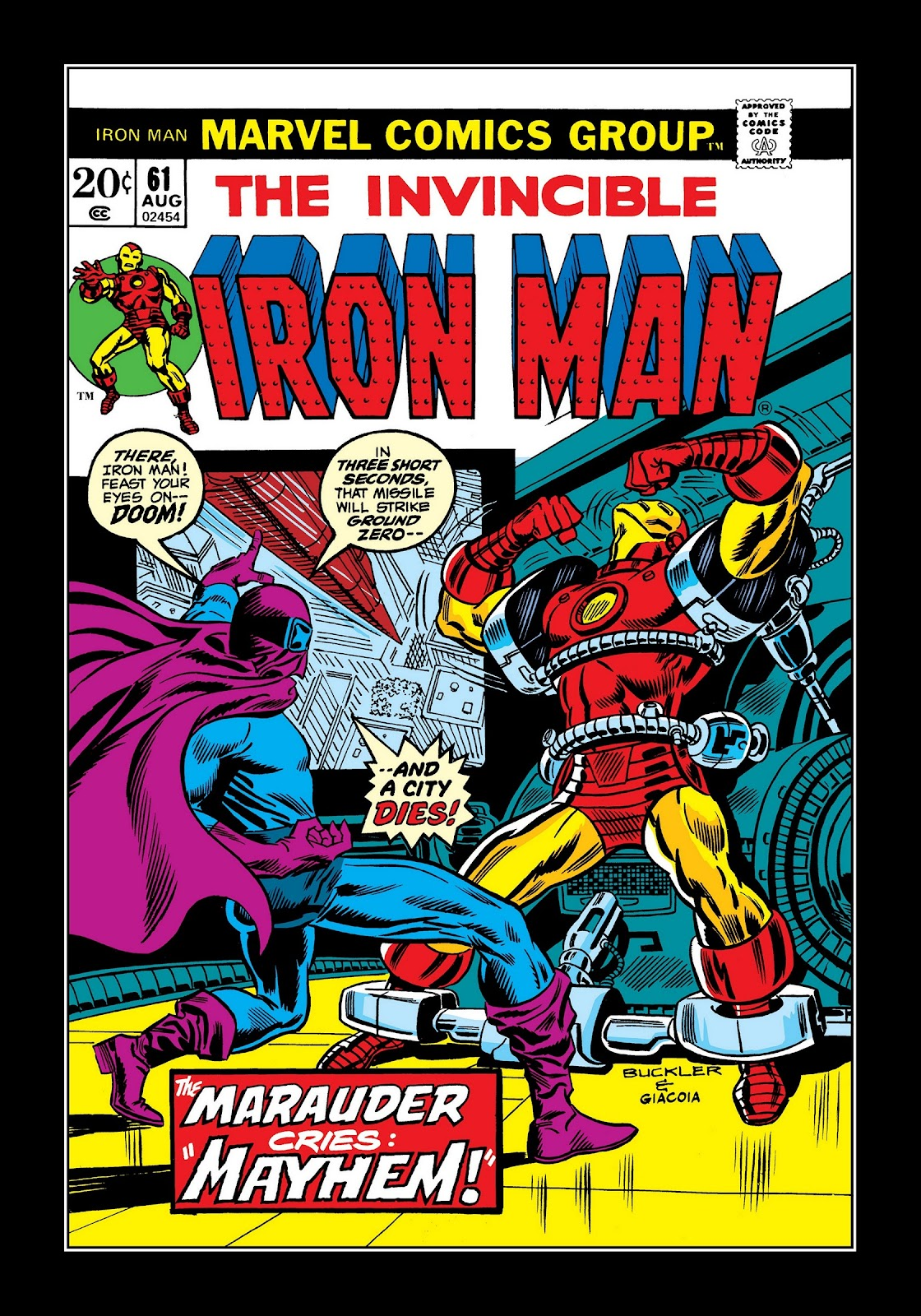 Read online Marvel Masterworks: The Invincible Iron Man comic -  Issue # TPB 9 (Part 2) - 54
