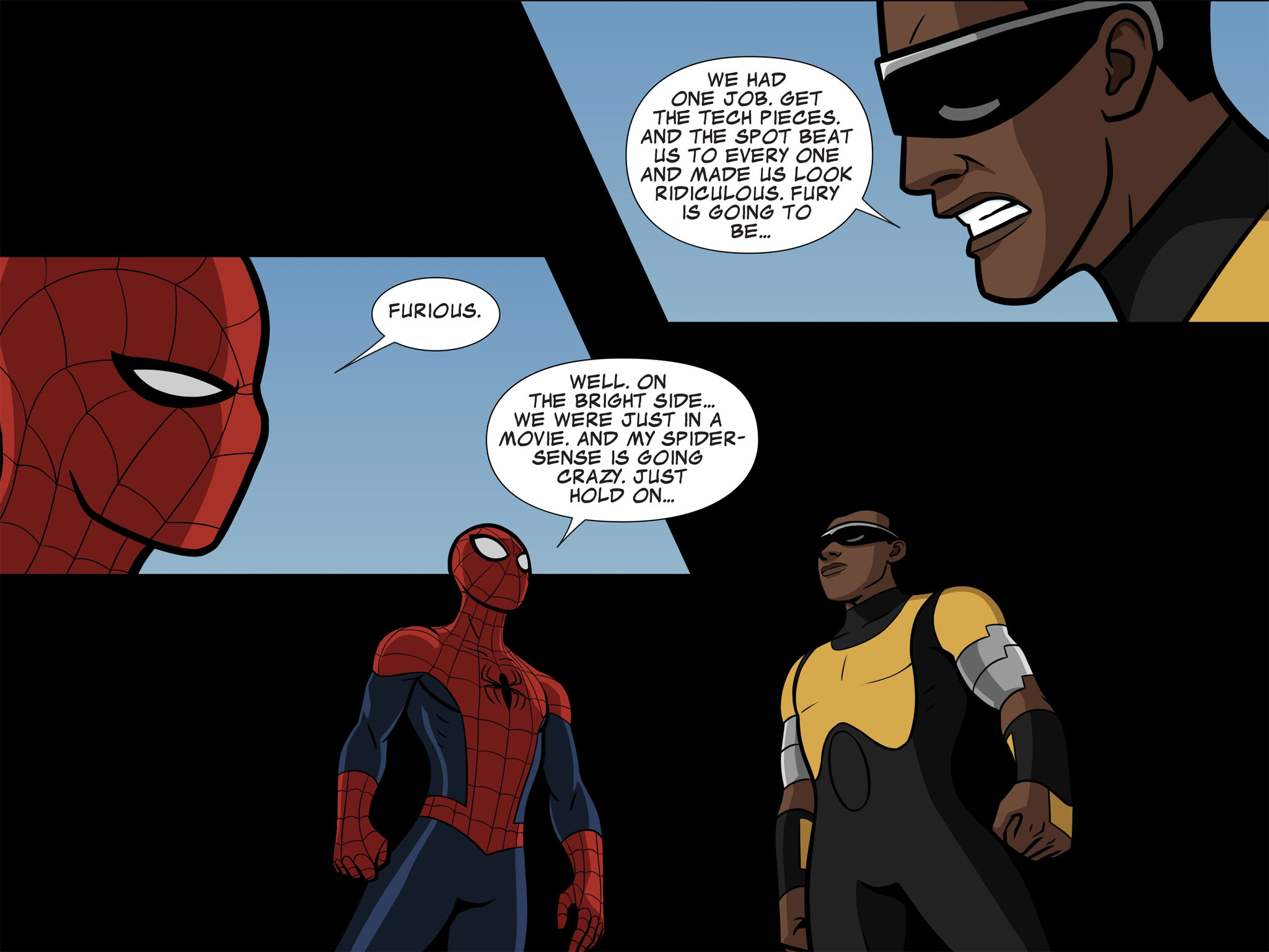 Read online Ultimate Spider-Man (Infinite Comics) (2015) comic -  Issue #11 - 7