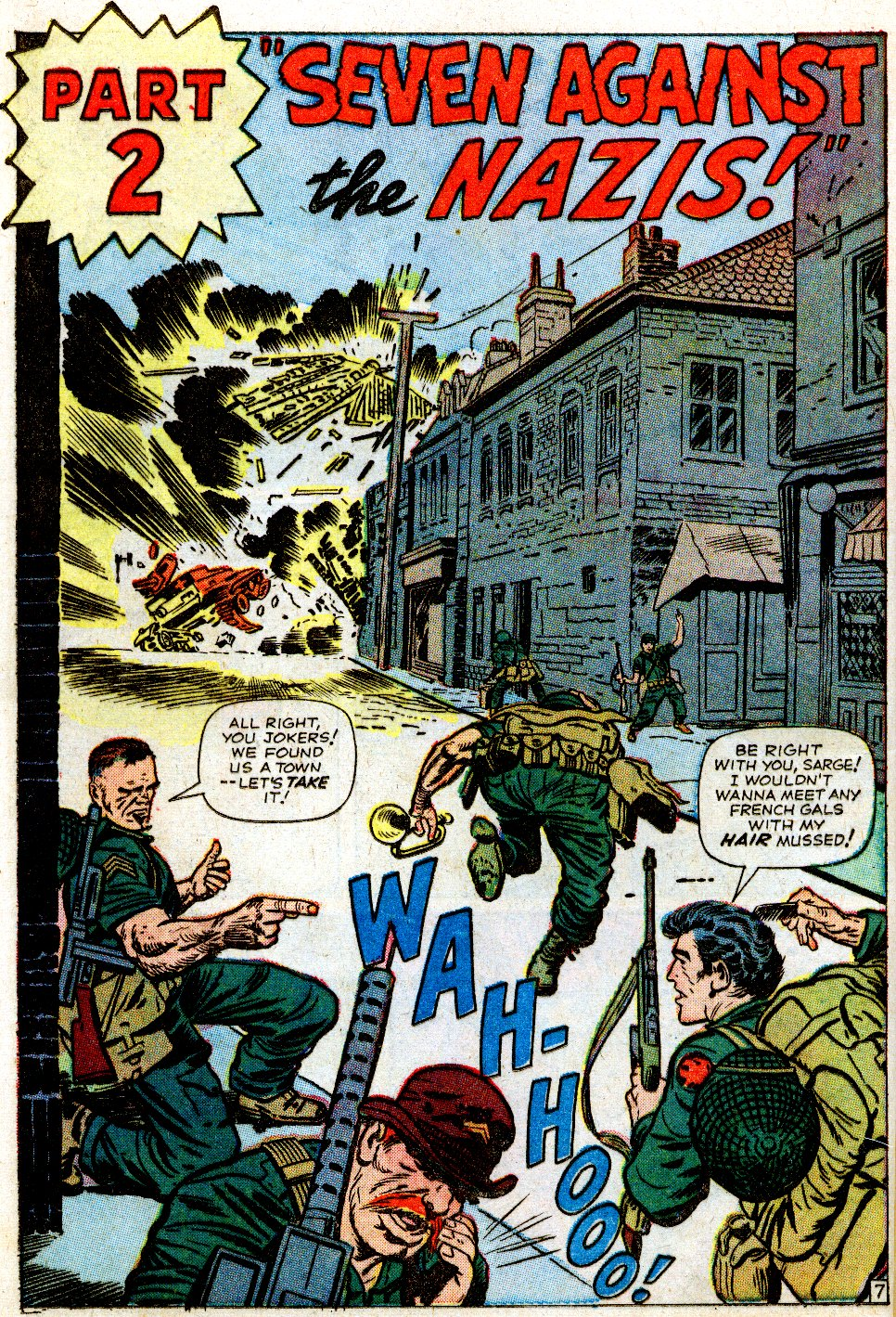 Read online Sgt. Fury comic -  Issue #1 - 12