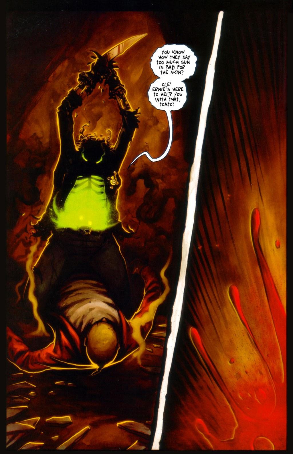 Read online Evil Ernie in Santa Fe comic -  Issue #3 - 19