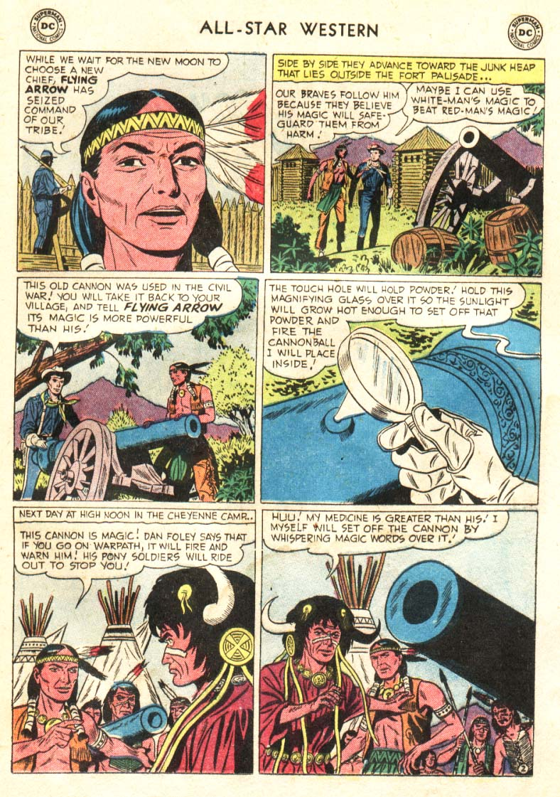 Read online All-Star Western (1951) comic -  Issue #91 - 15
