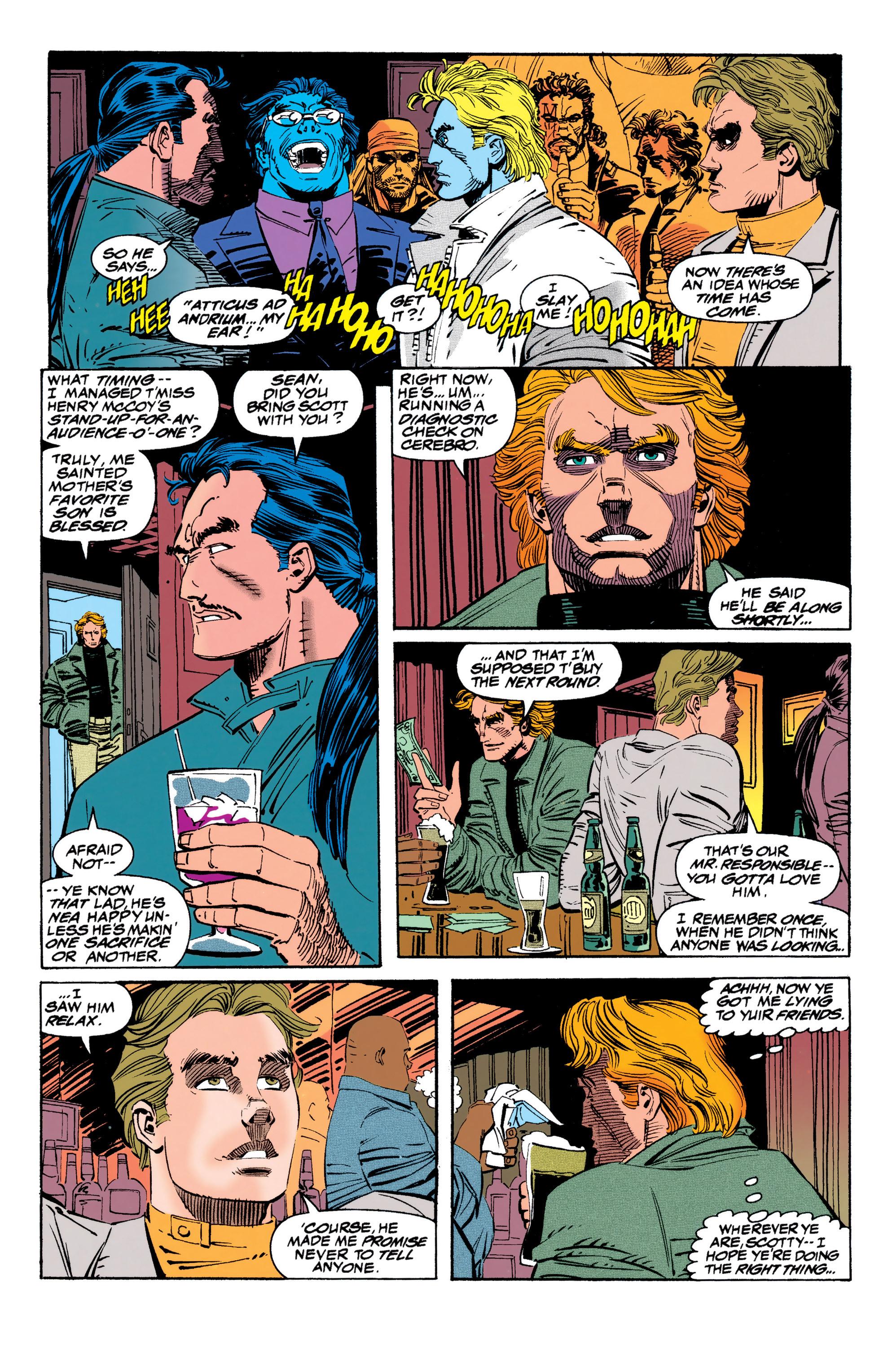 Read online Uncanny X-Men (1963) comic -  Issue #310 - 13