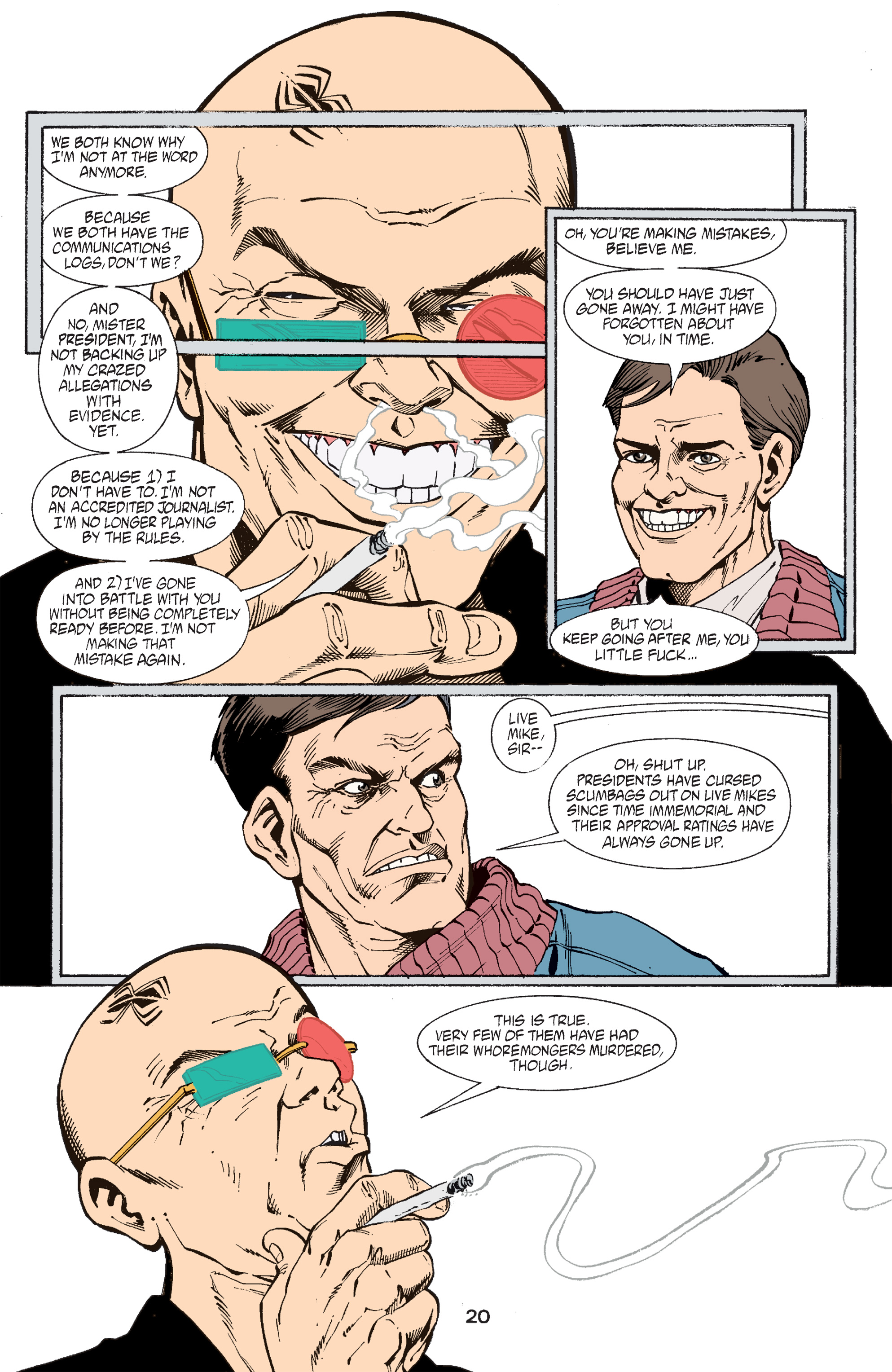 Read online Transmetropolitan comic -  Issue #47 - 21