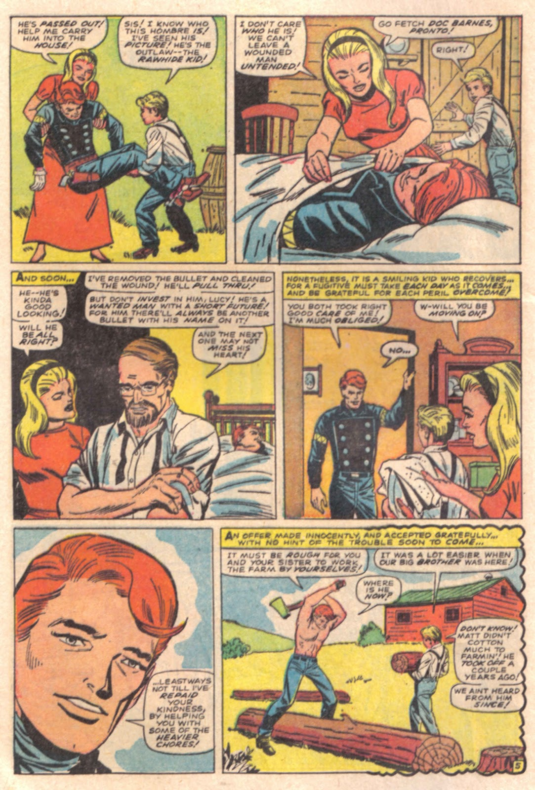 The Rawhide Kid (1955) issue 65 - Page 8