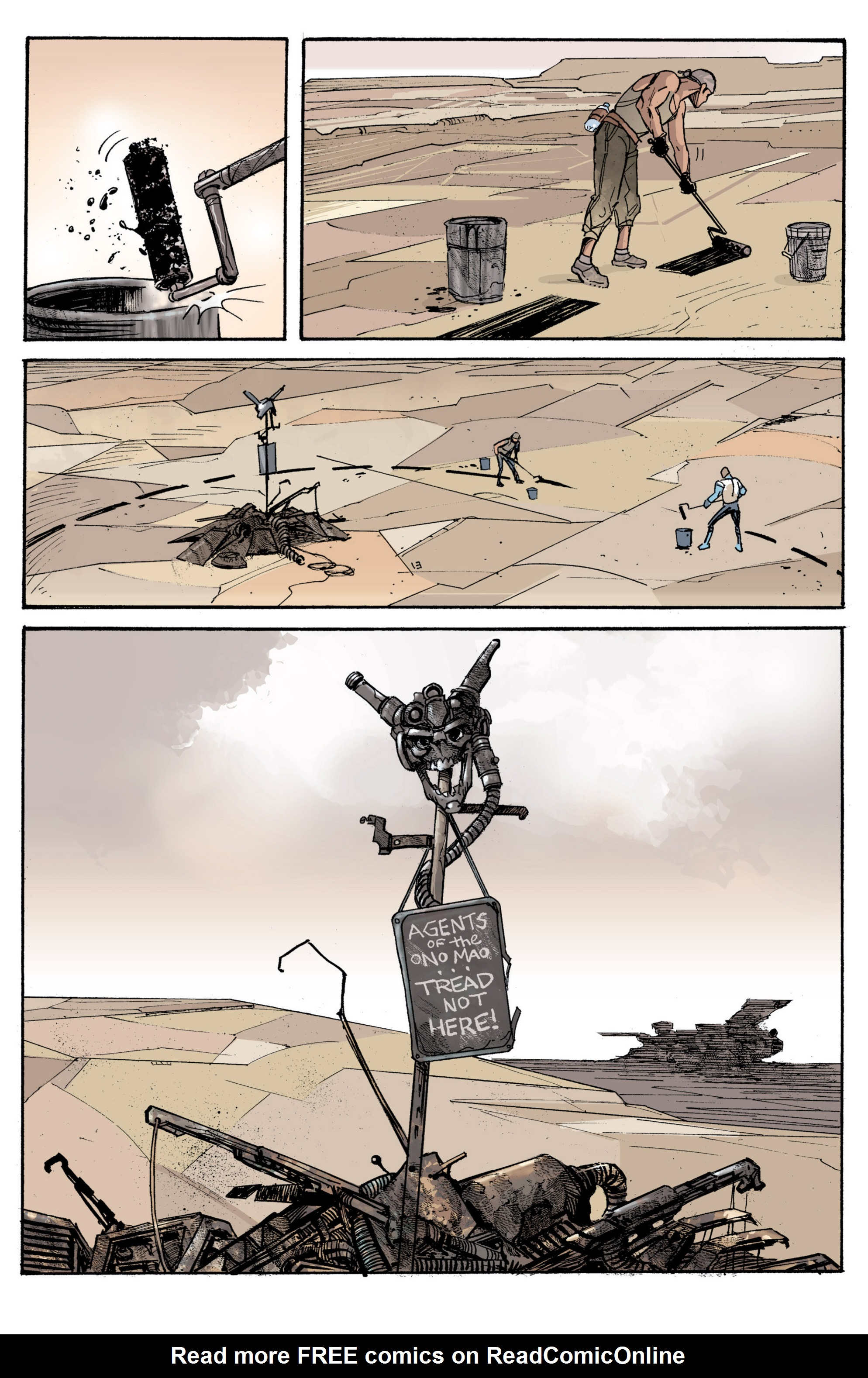 Read online Planetoid comic -  Issue # TPB - 88