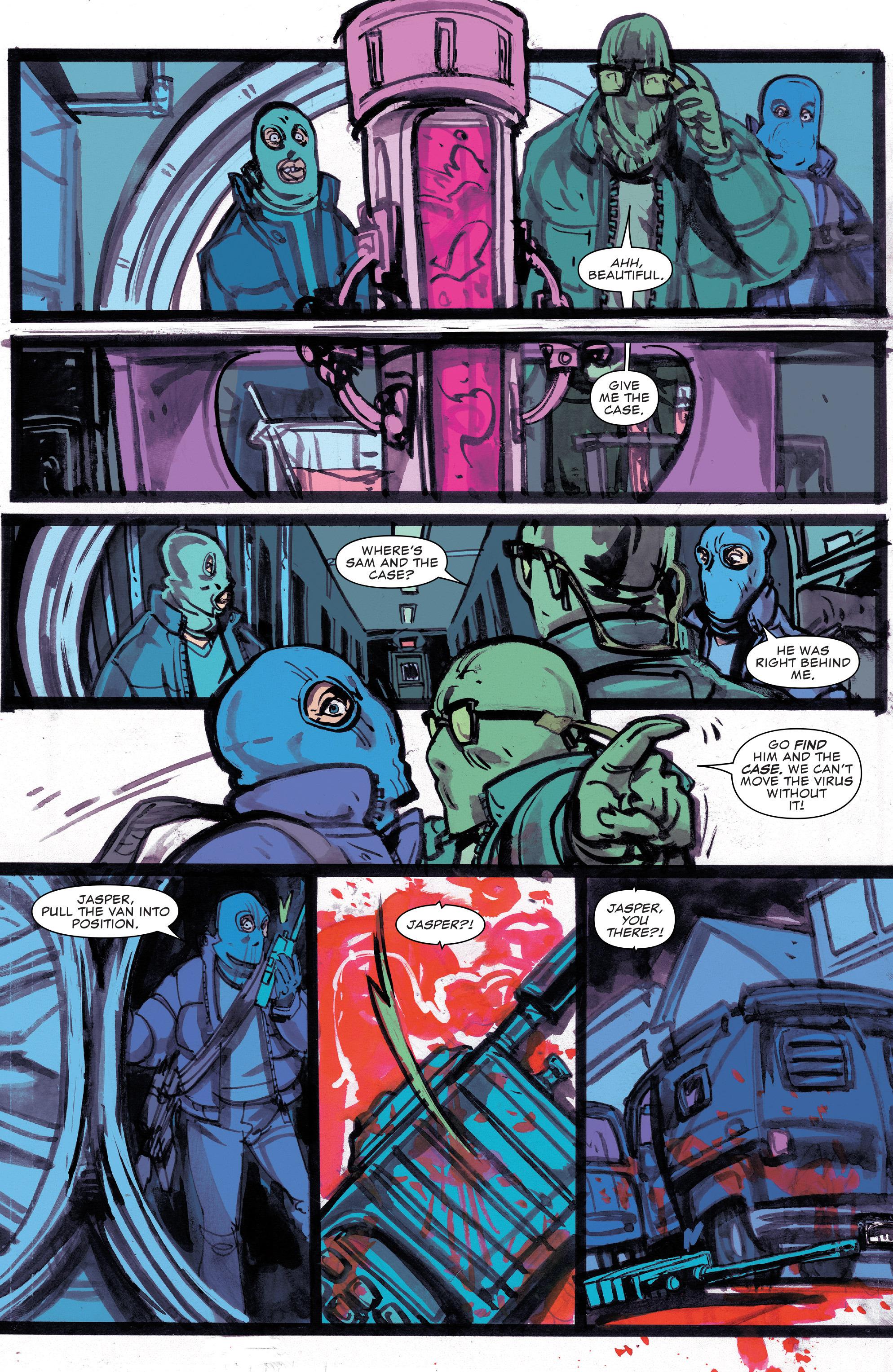Read online Civil War II: Choosing Sides comic -  Issue #4 - 5