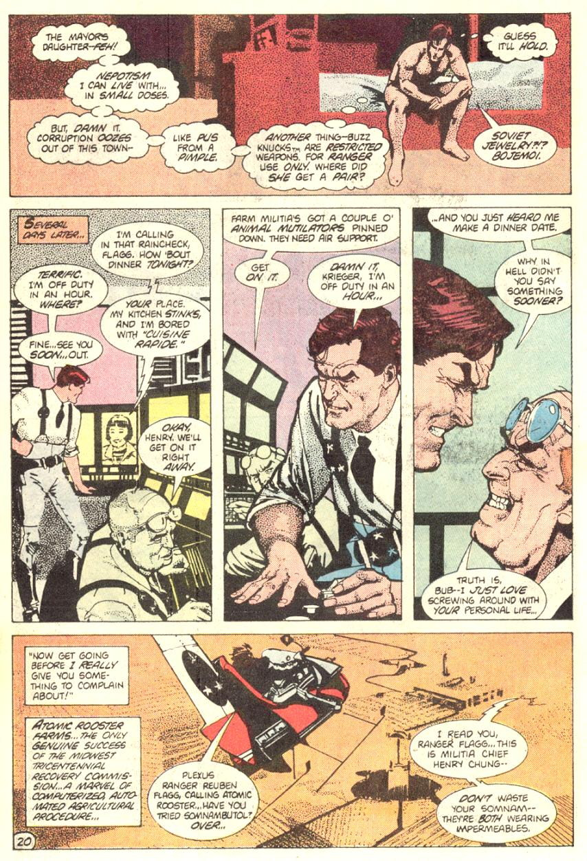 Read online American Flagg! comic -  Issue #2 - 21