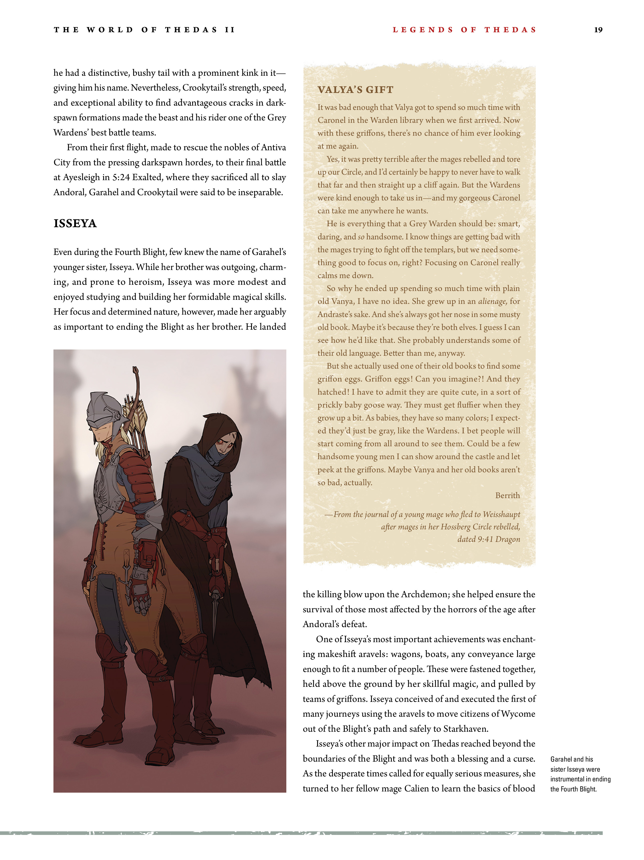 Read online Dragon Age: The World of Thedas comic -  Issue # TPB 2 - 17