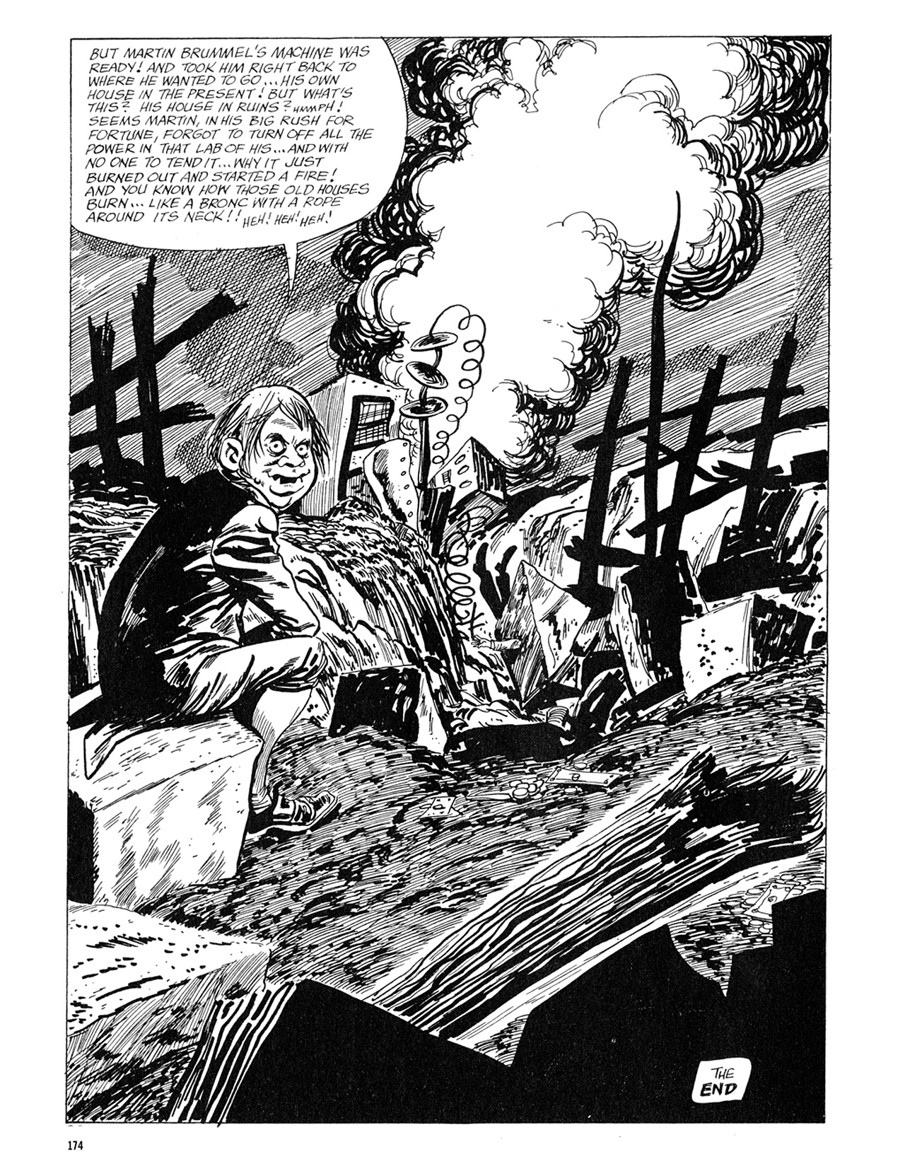Read online Eerie Archives comic -  Issue # TPB 5 - 175