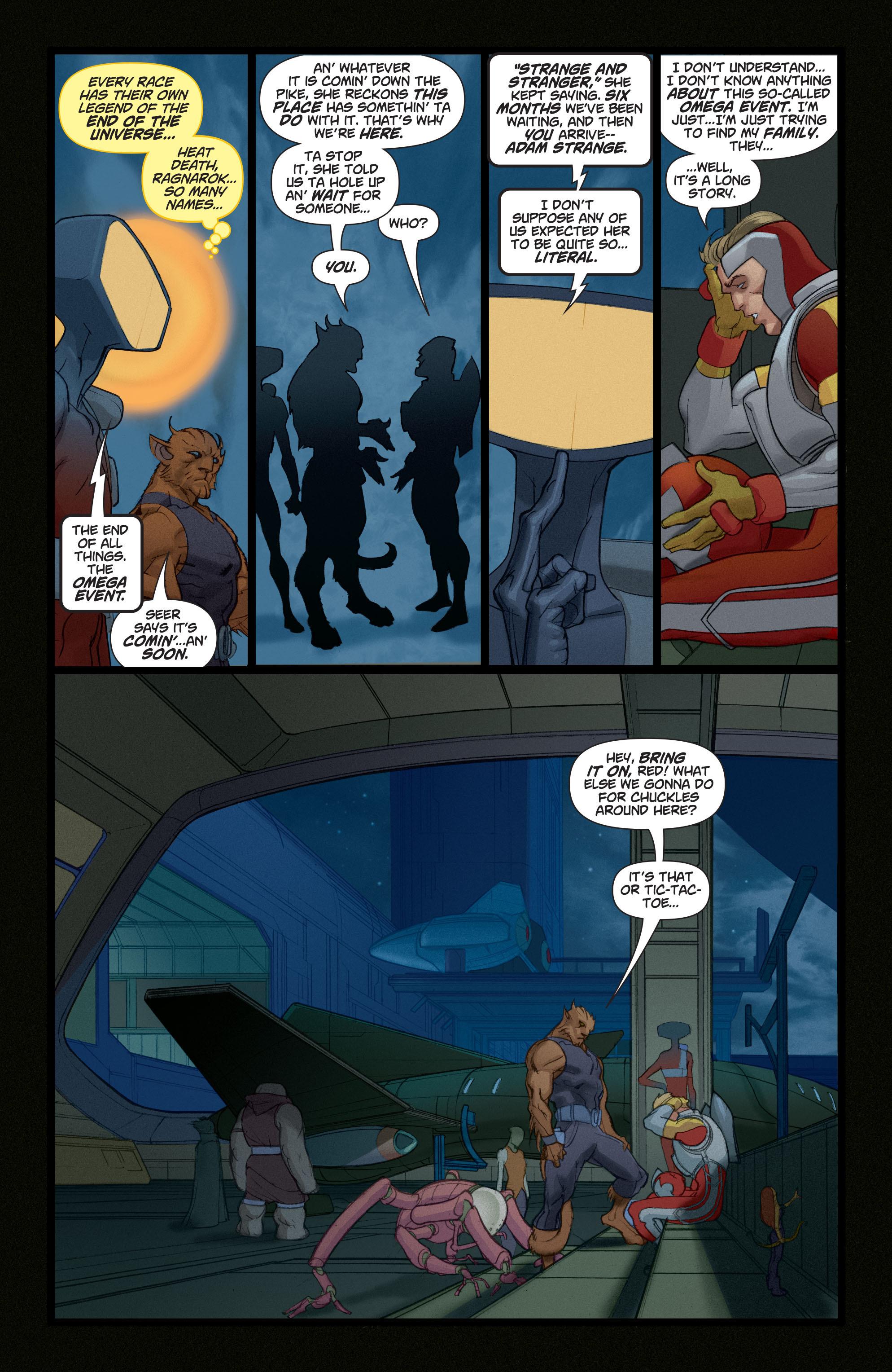 Read online Adam Strange (2004) comic -  Issue #4 - 14