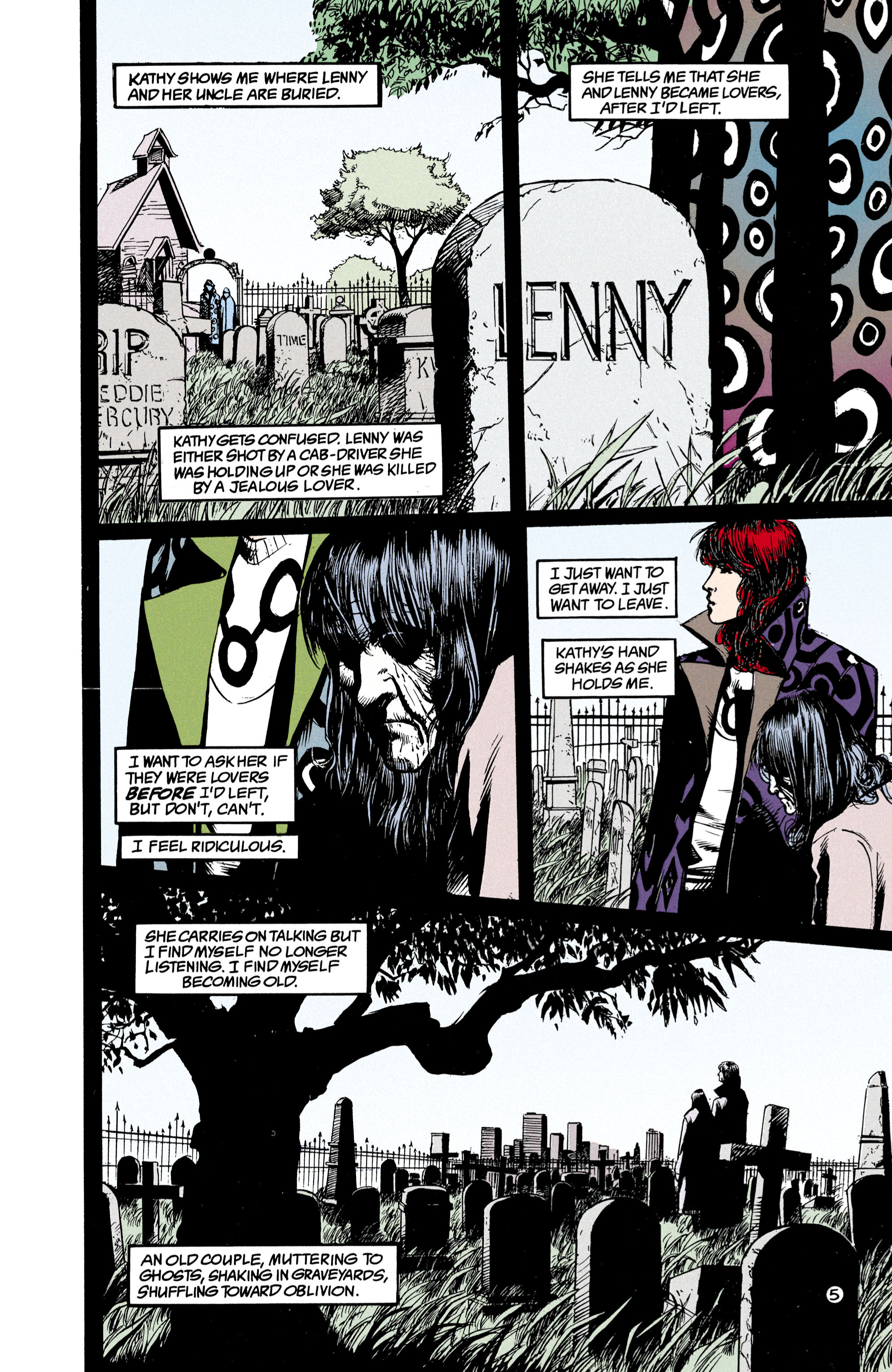 Read online Shade, the Changing Man comic -  Issue #23 - 6