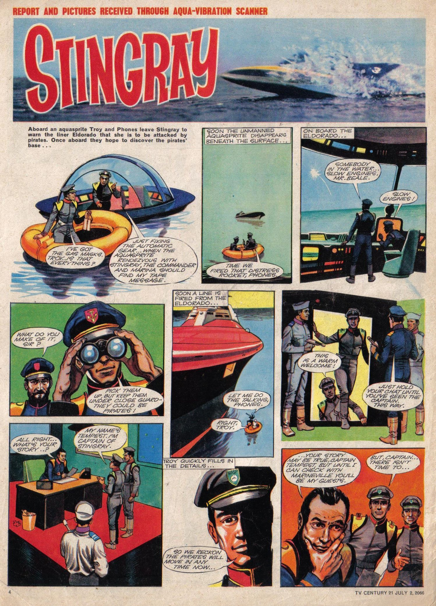 Read online TV Century 21 (TV 21) comic -  Issue #76 - 4