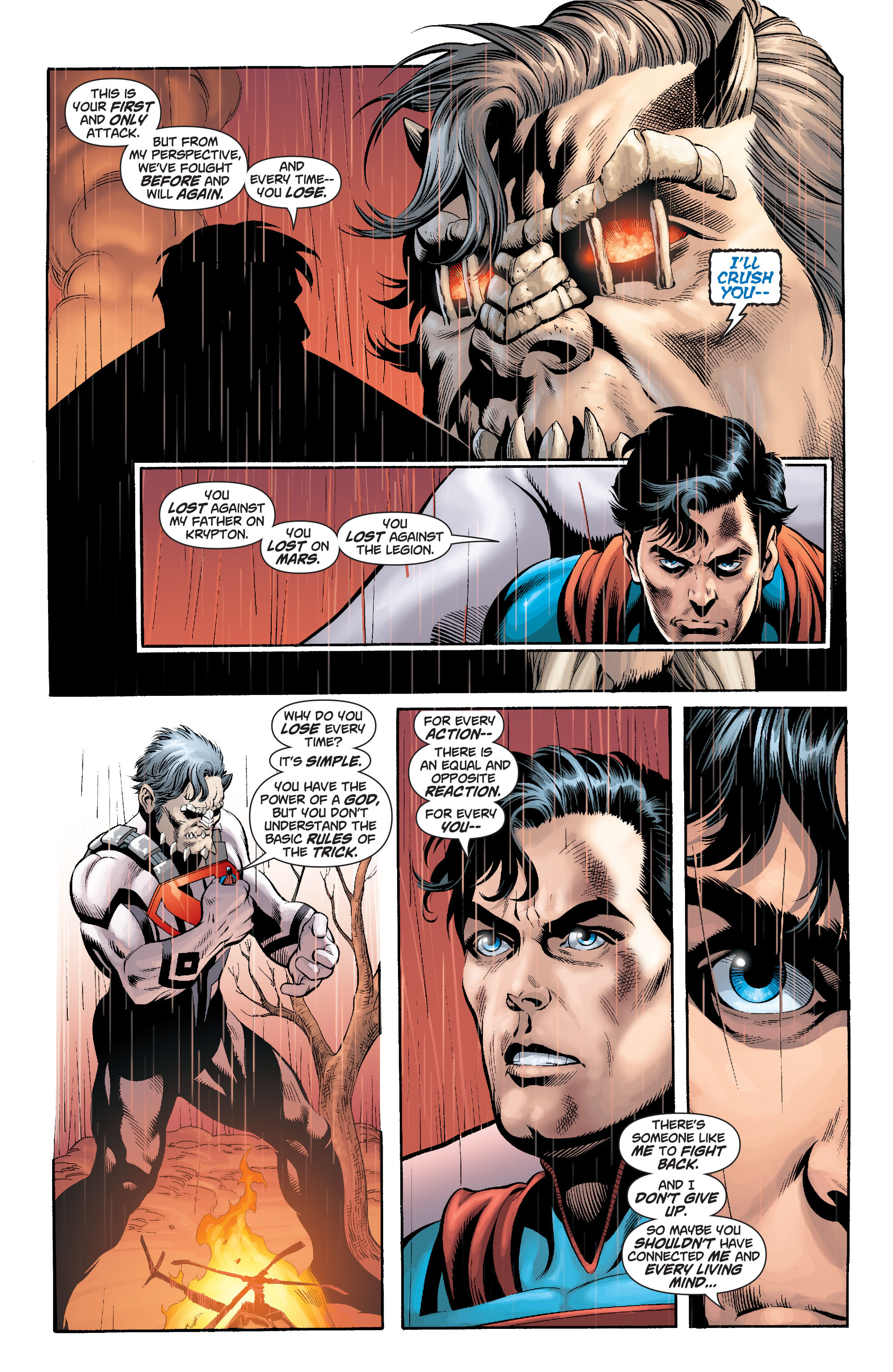 Read online Action Comics (2011) comic -  Issue #18 - 21