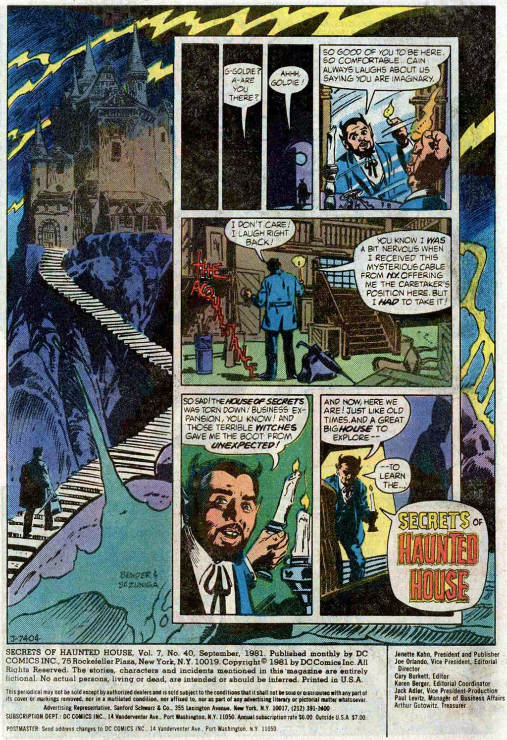 Read online Secrets of Haunted House comic -  Issue #40 - 3