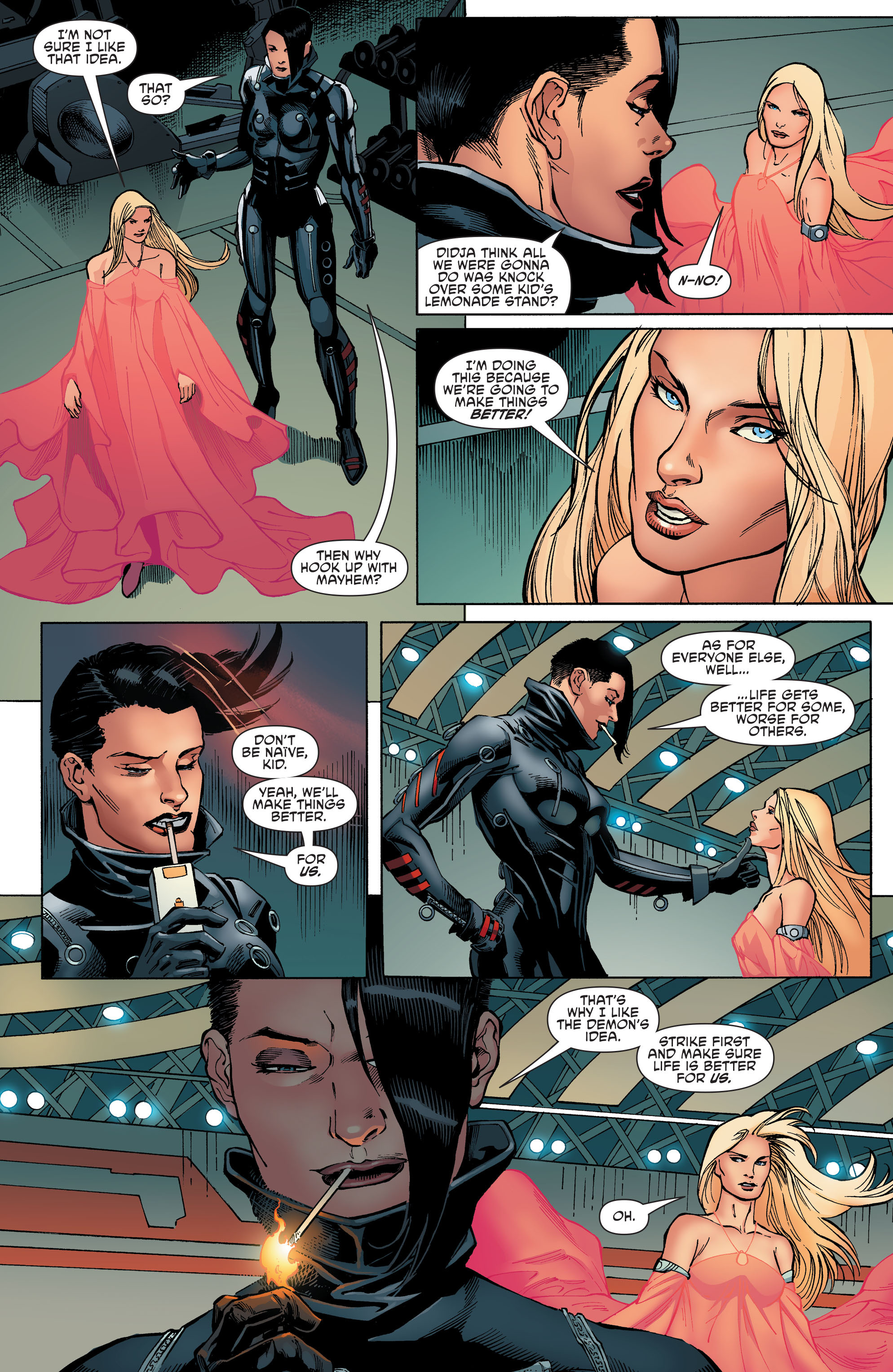 Read online Aquaman and the Others comic -  Issue #8 - 9