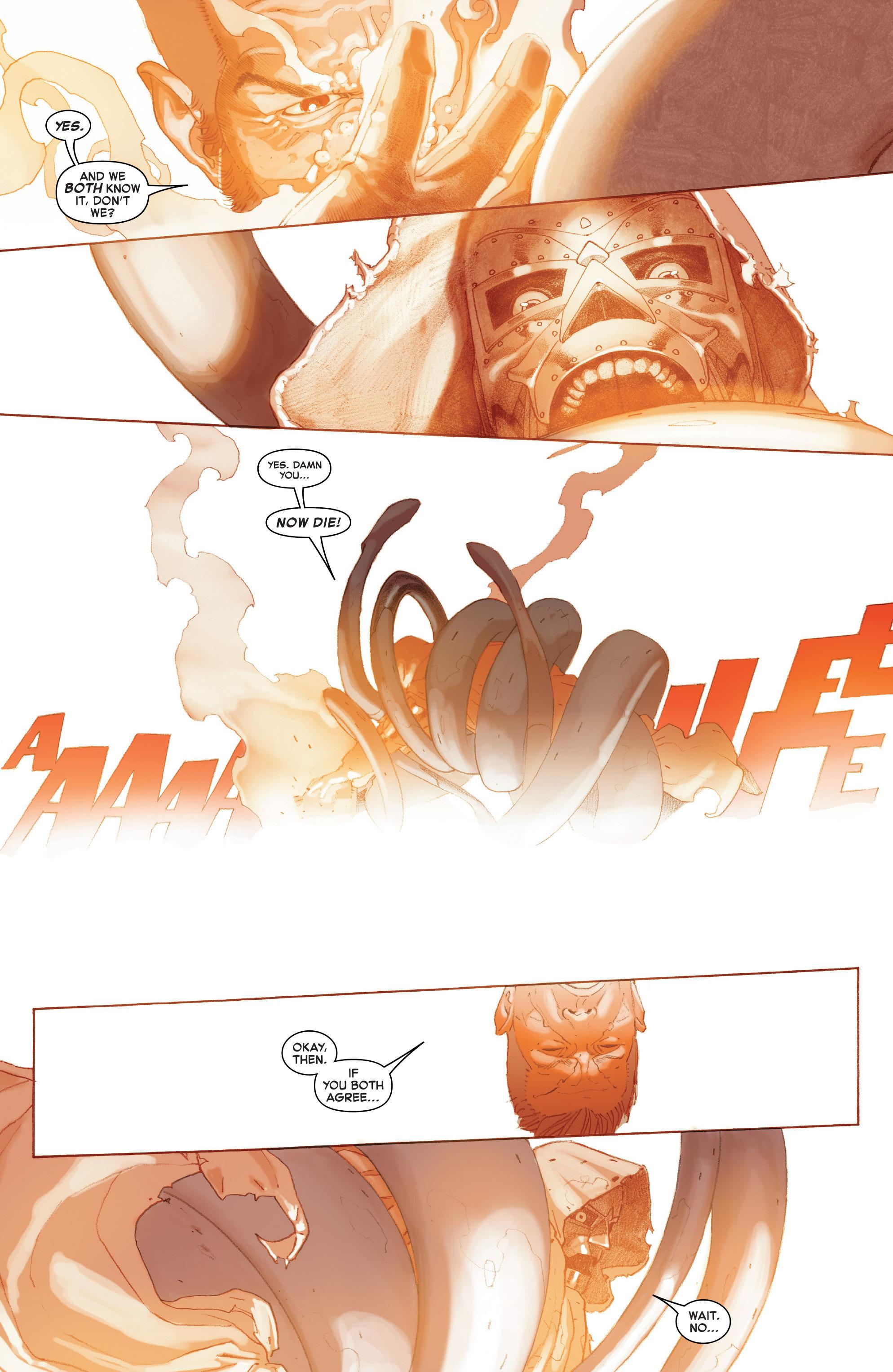 Read online Secret Wars comic -  Issue #9 - 21