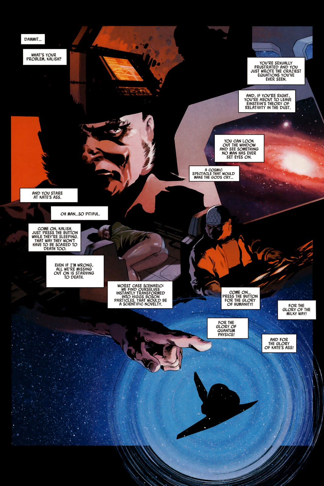 Read online Universal War One: Revelations comic -  Issue #2 - 14