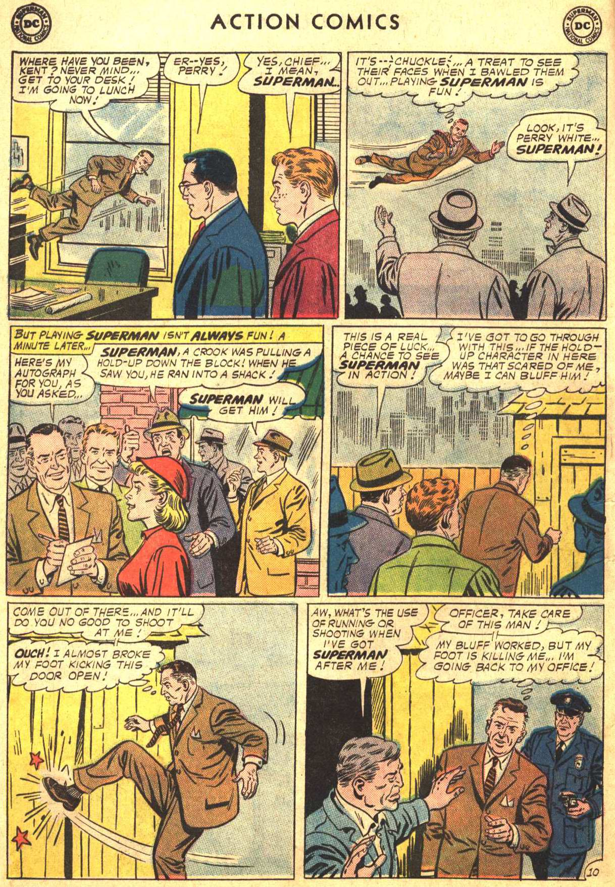 Read online Action Comics (1938) comic -  Issue #302 - 11