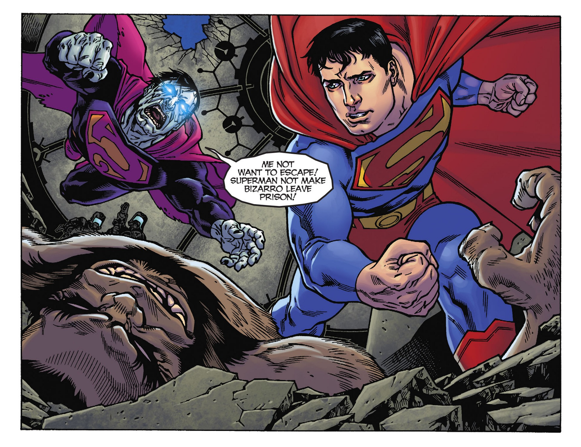 Read online Adventures of Superman [I] comic -  Issue #39 - 4
