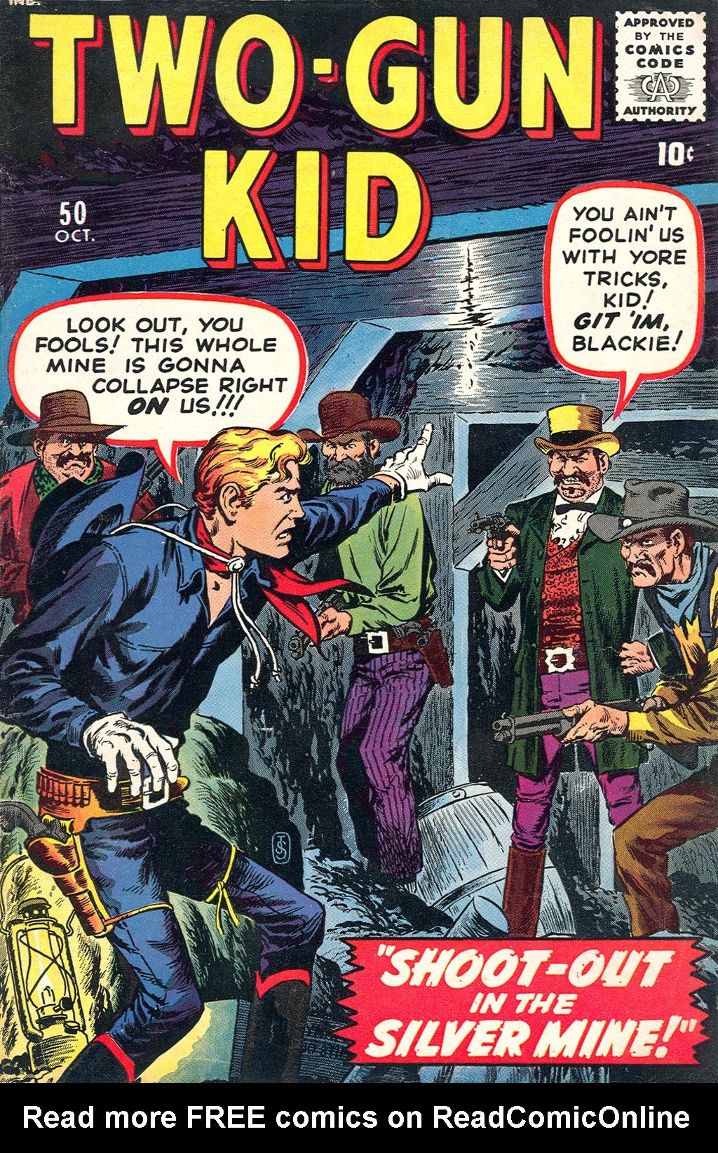 Read online Two-Gun Kid comic -  Issue #50 - 1
