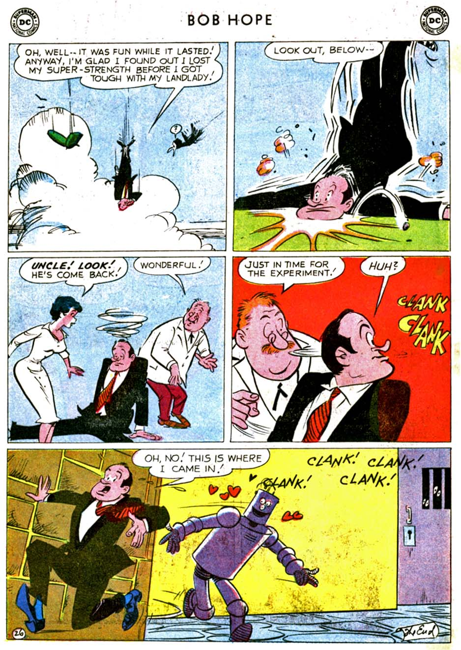 The Adventures of Bob Hope issue 68 - Page 32