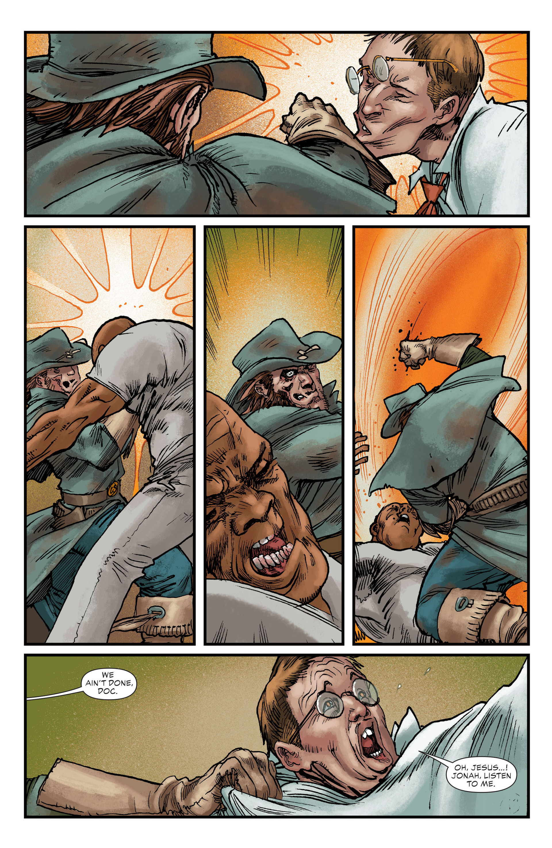 Read online All-Star Western (2011) comic -  Issue #22 - 14