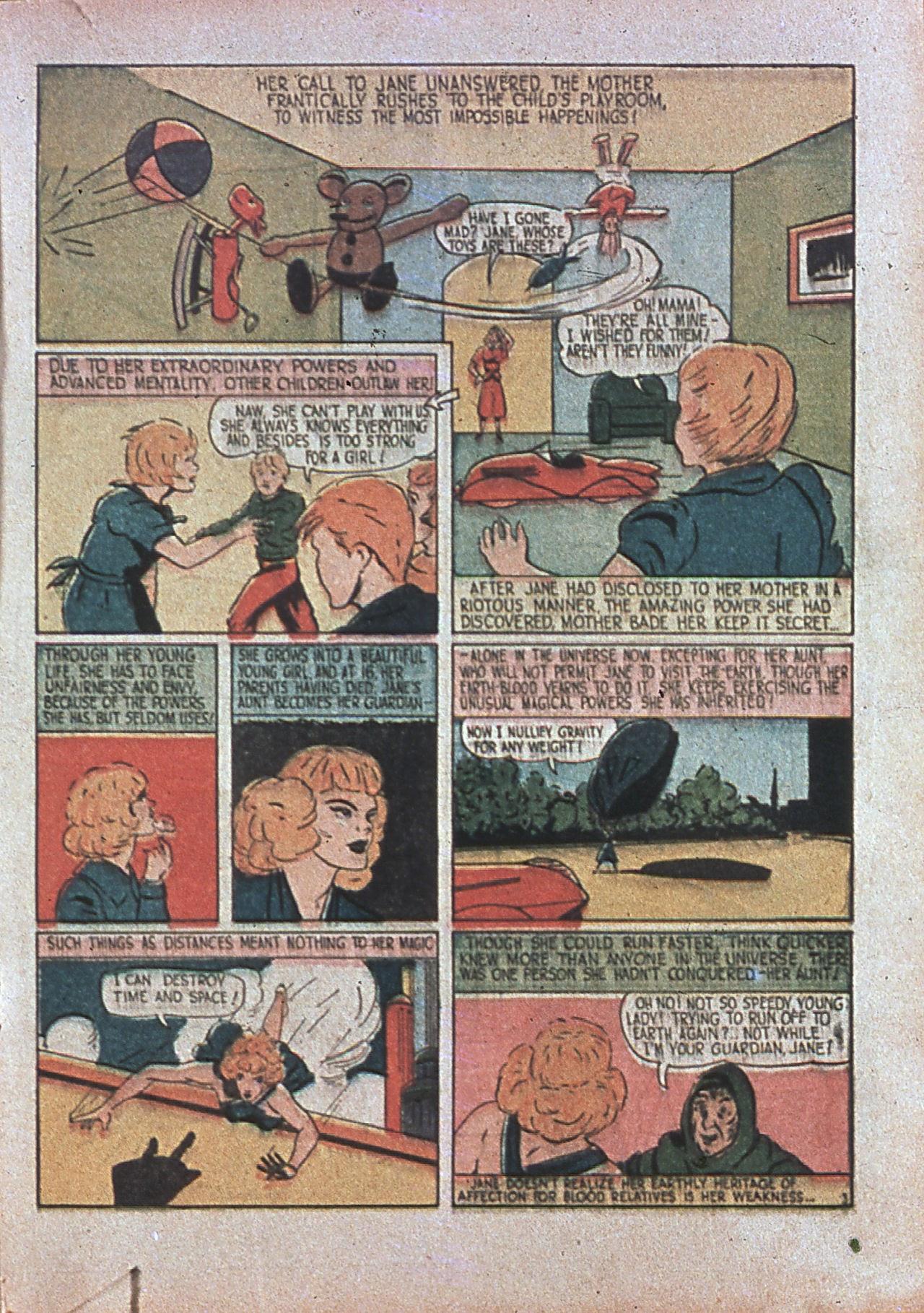 Read online Amazing Man Comics comic -  Issue #7 - 32