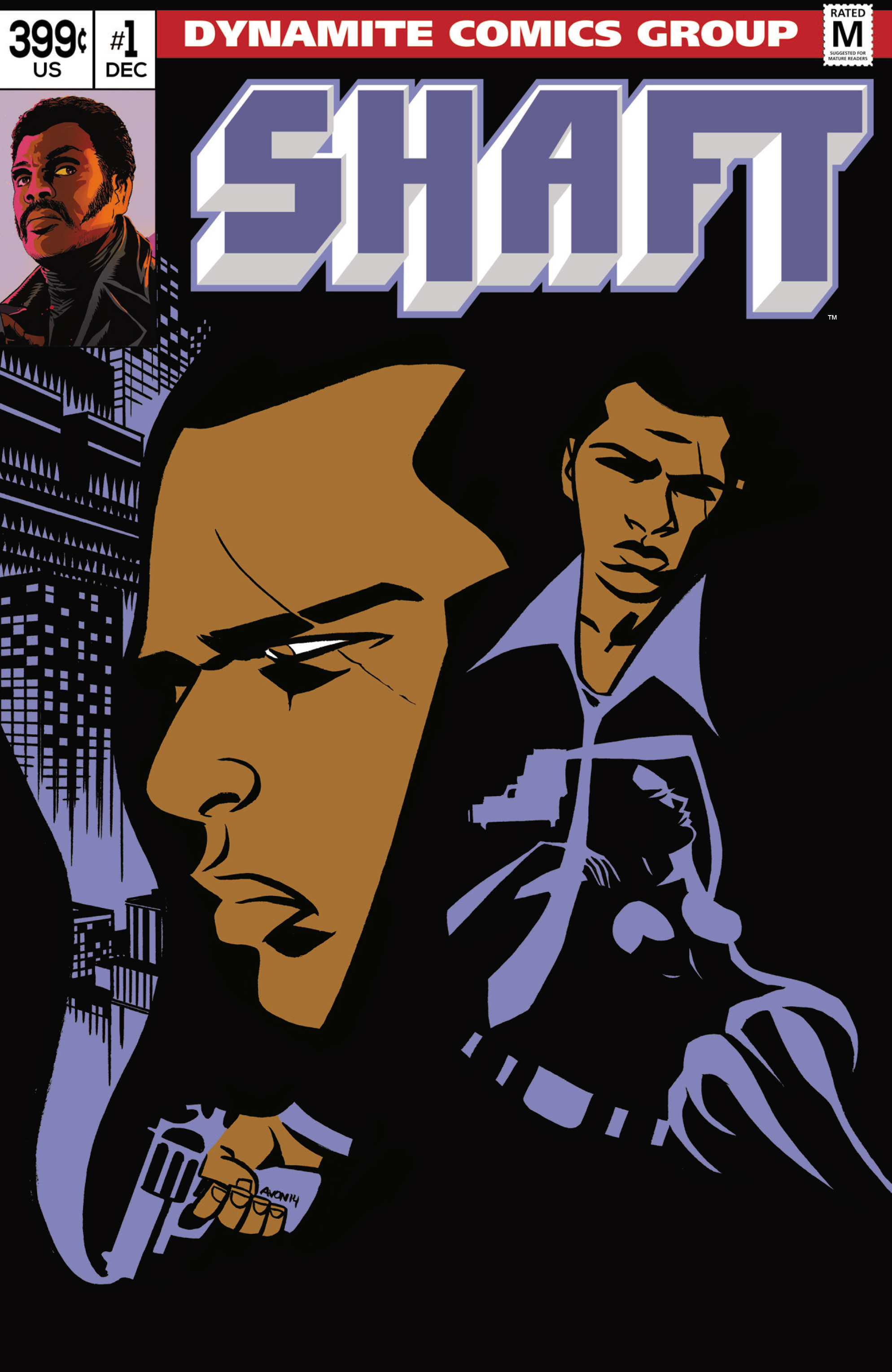 Read online Shaft comic -  Issue #1 - 3